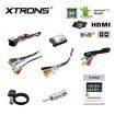 XTRONS PA77QSFP-S
