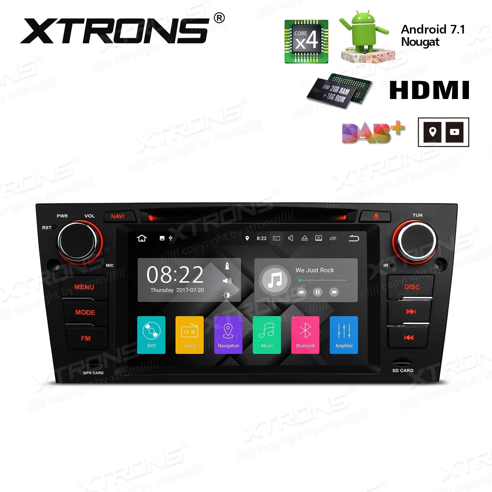 XTRONS PA7790BP