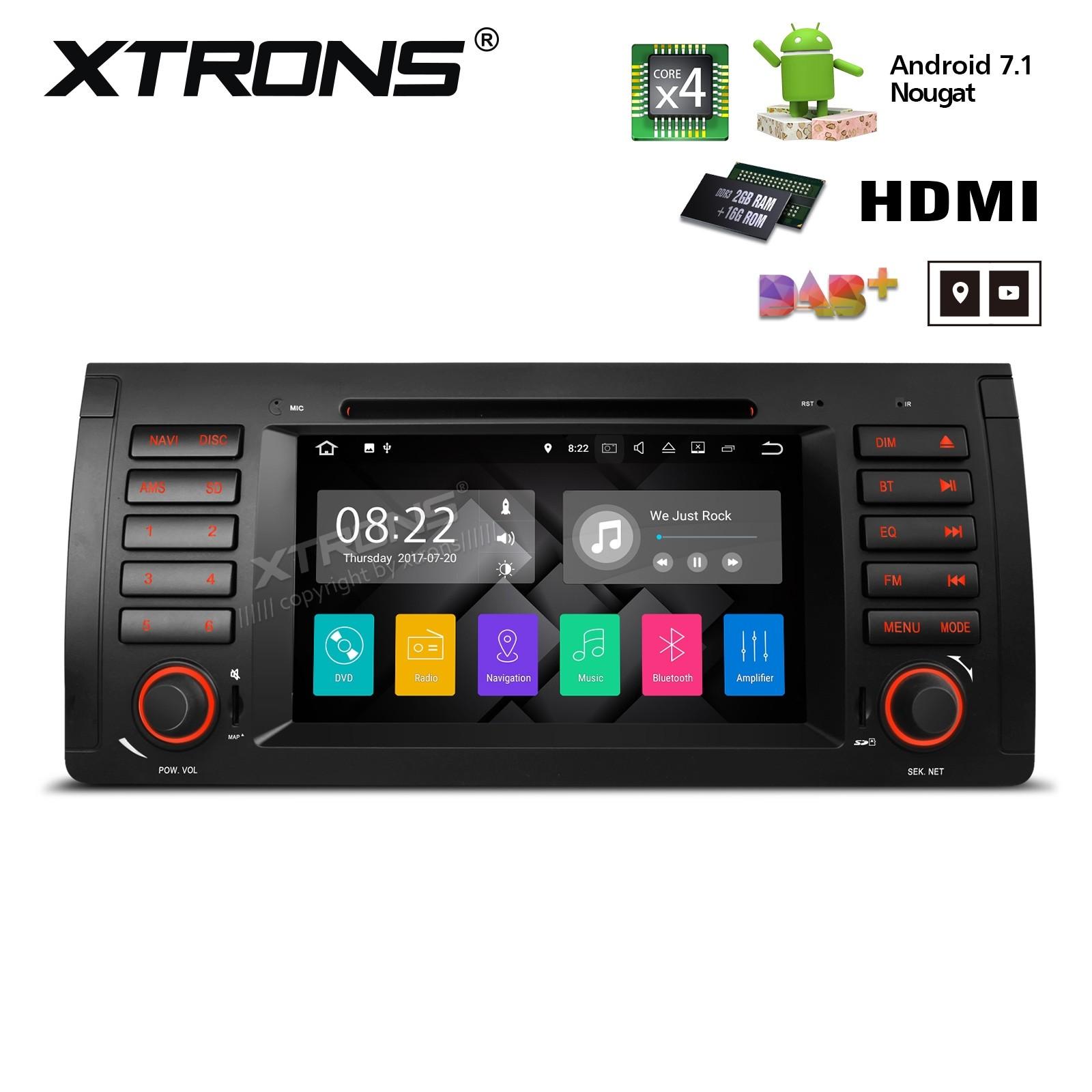 XTRONS PA7753BP