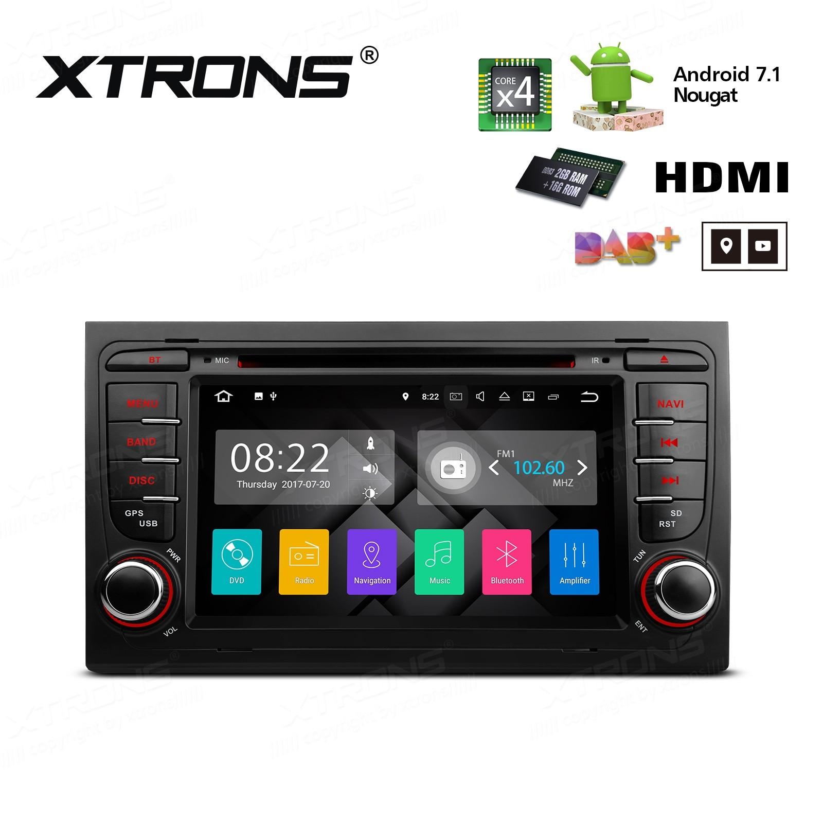 XTRONS PA77AA4P