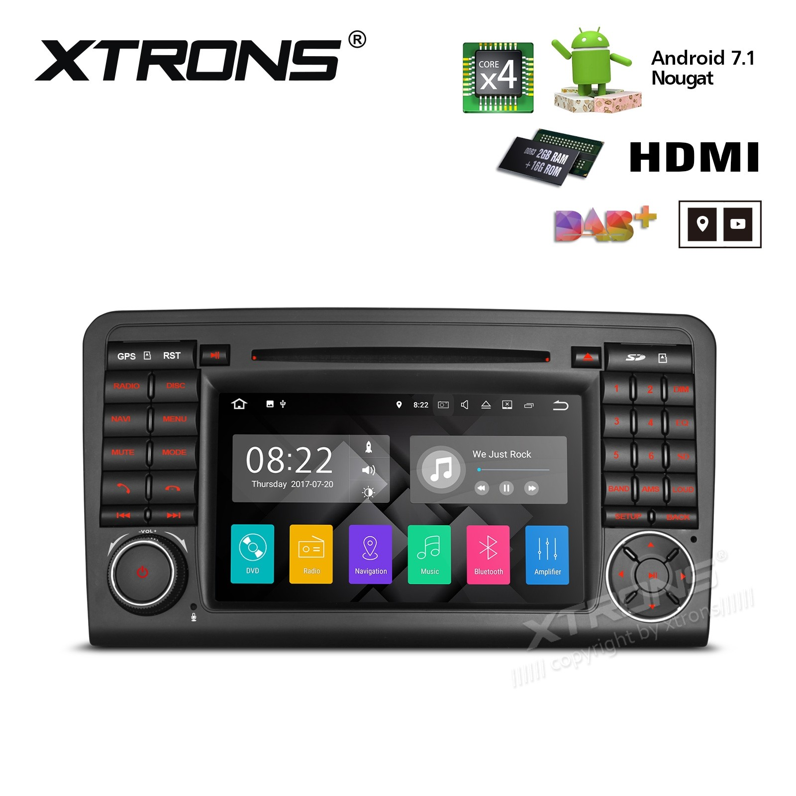XTRONS PA77M164P