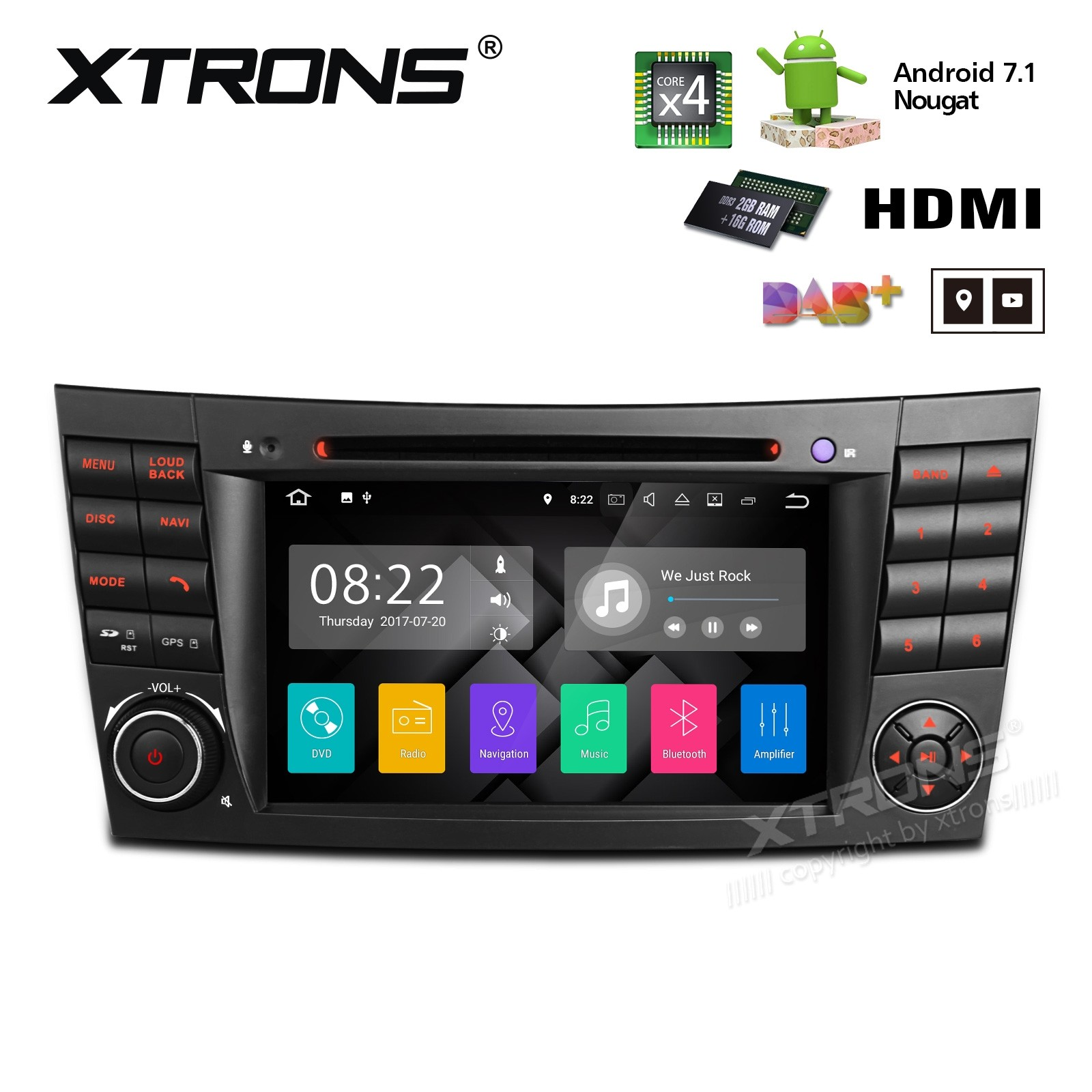 XTRONS PA77M211P