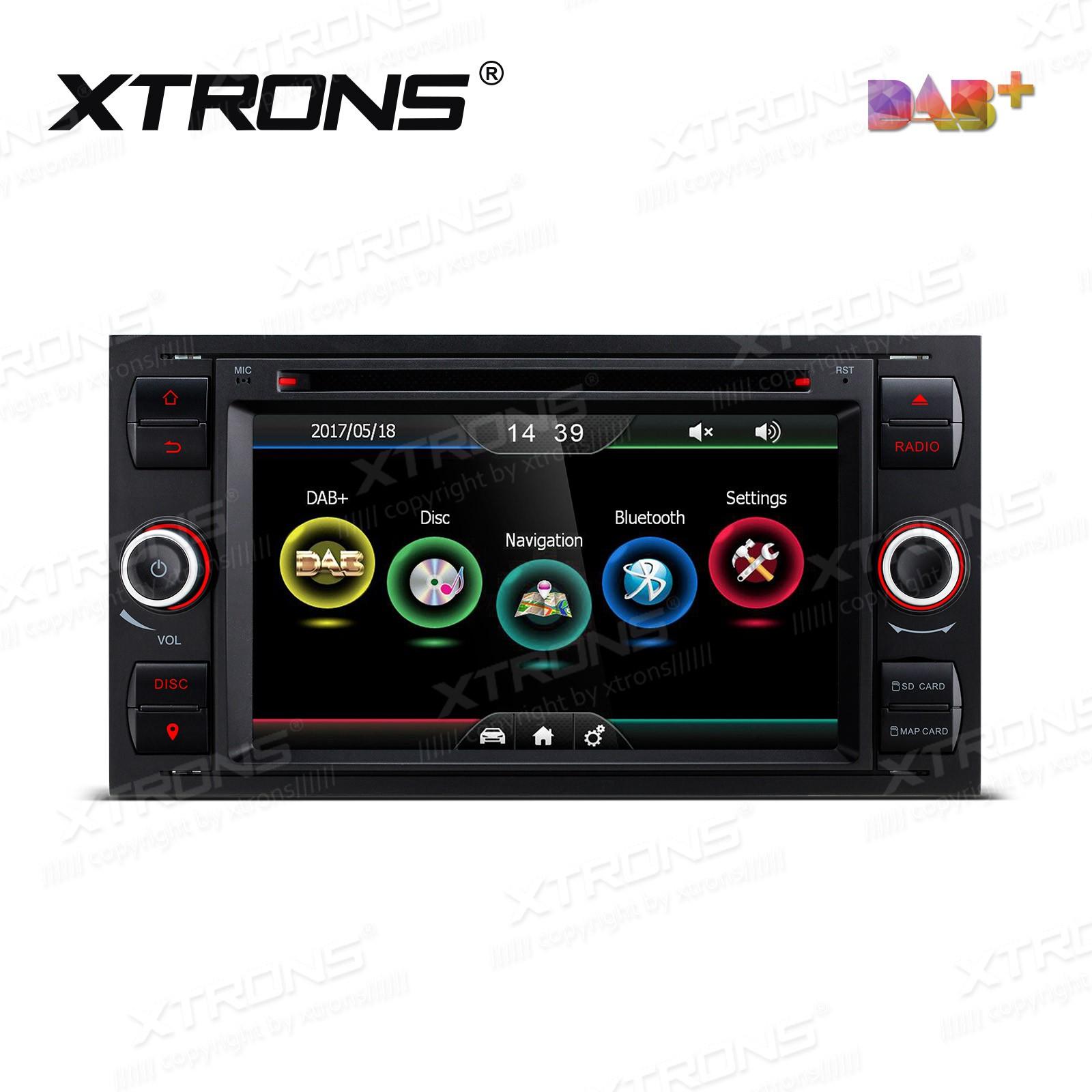 XTRONS PDAB70FSF-B