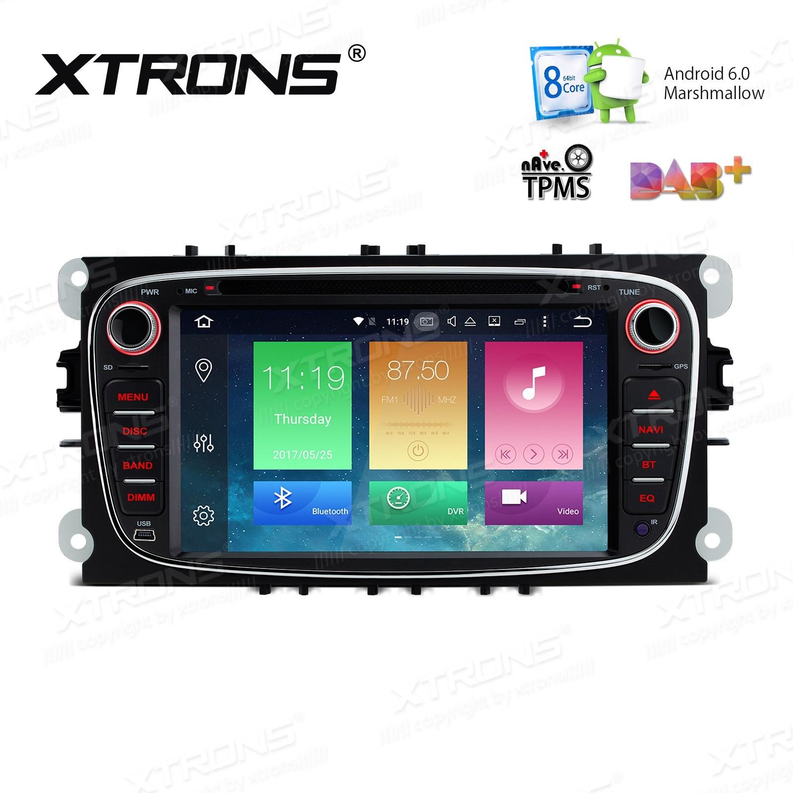 XTRONS PB76FSFP-B