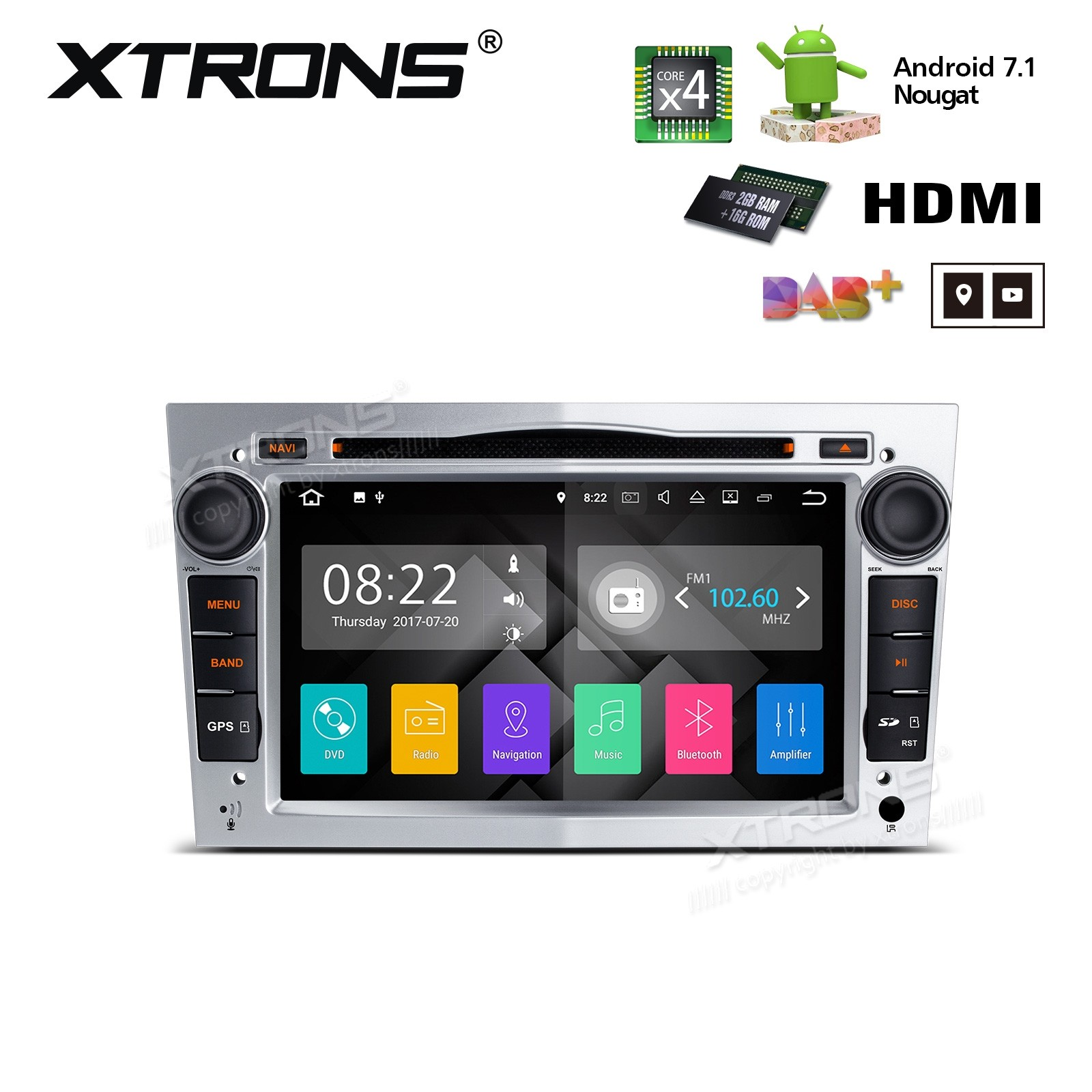 XTRONS PA77OLOP-S