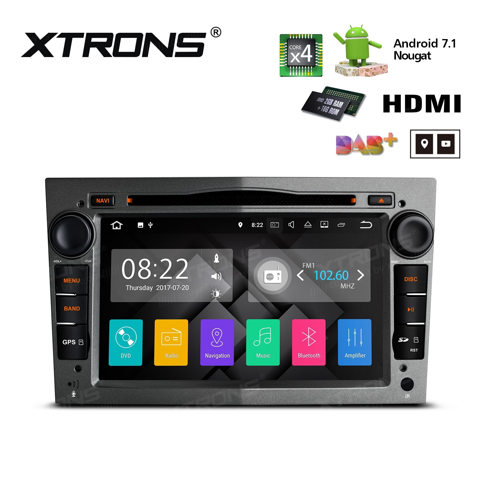 XTRONS PA77OLOP-G