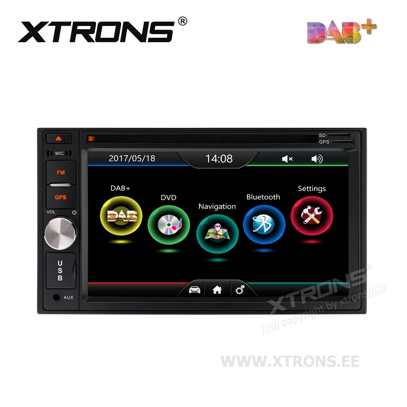 XTRONS TD623DAB