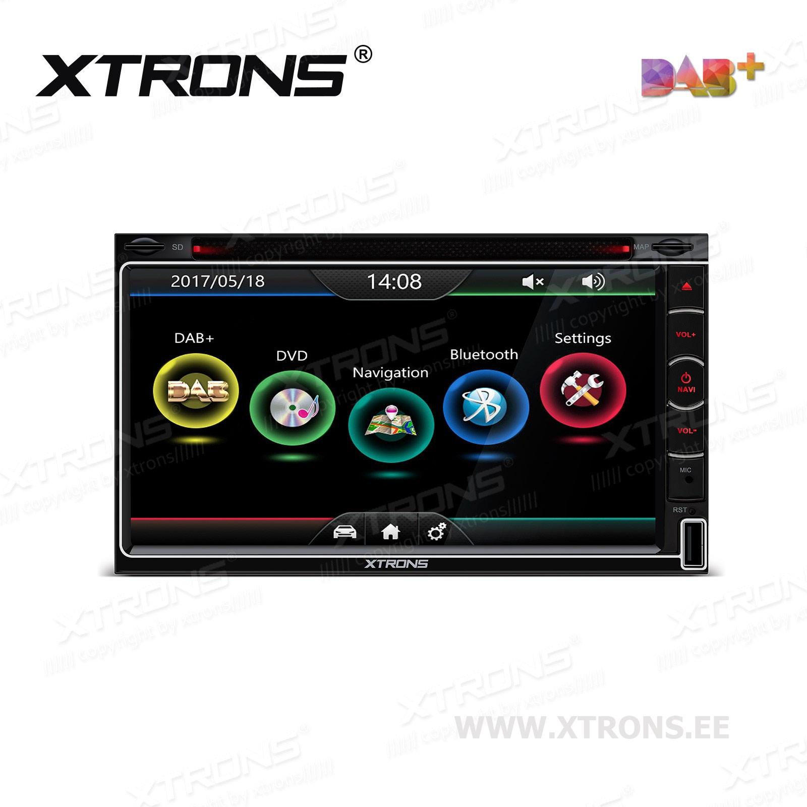 XTRONS TD799DABS