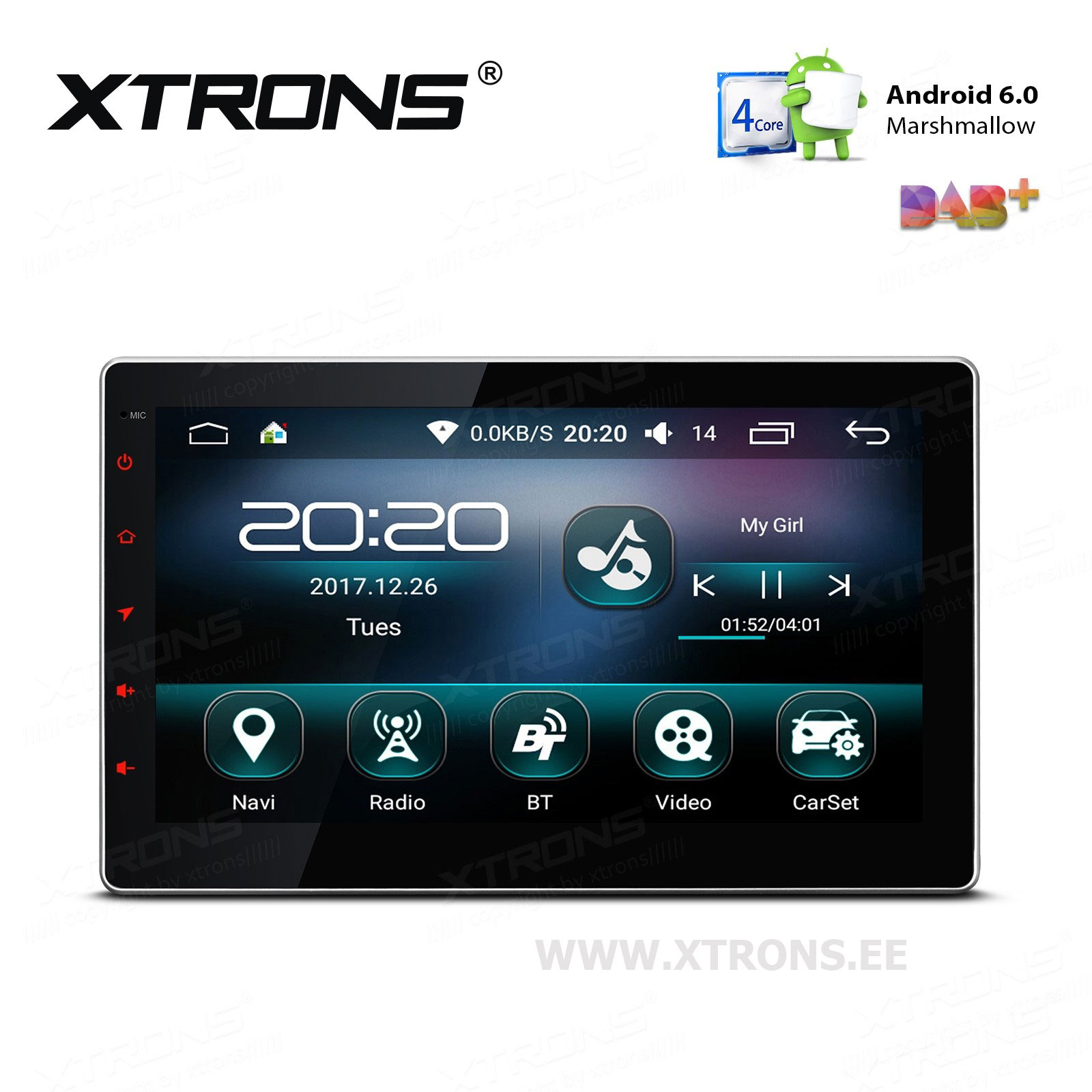 XTRONS TS109L
