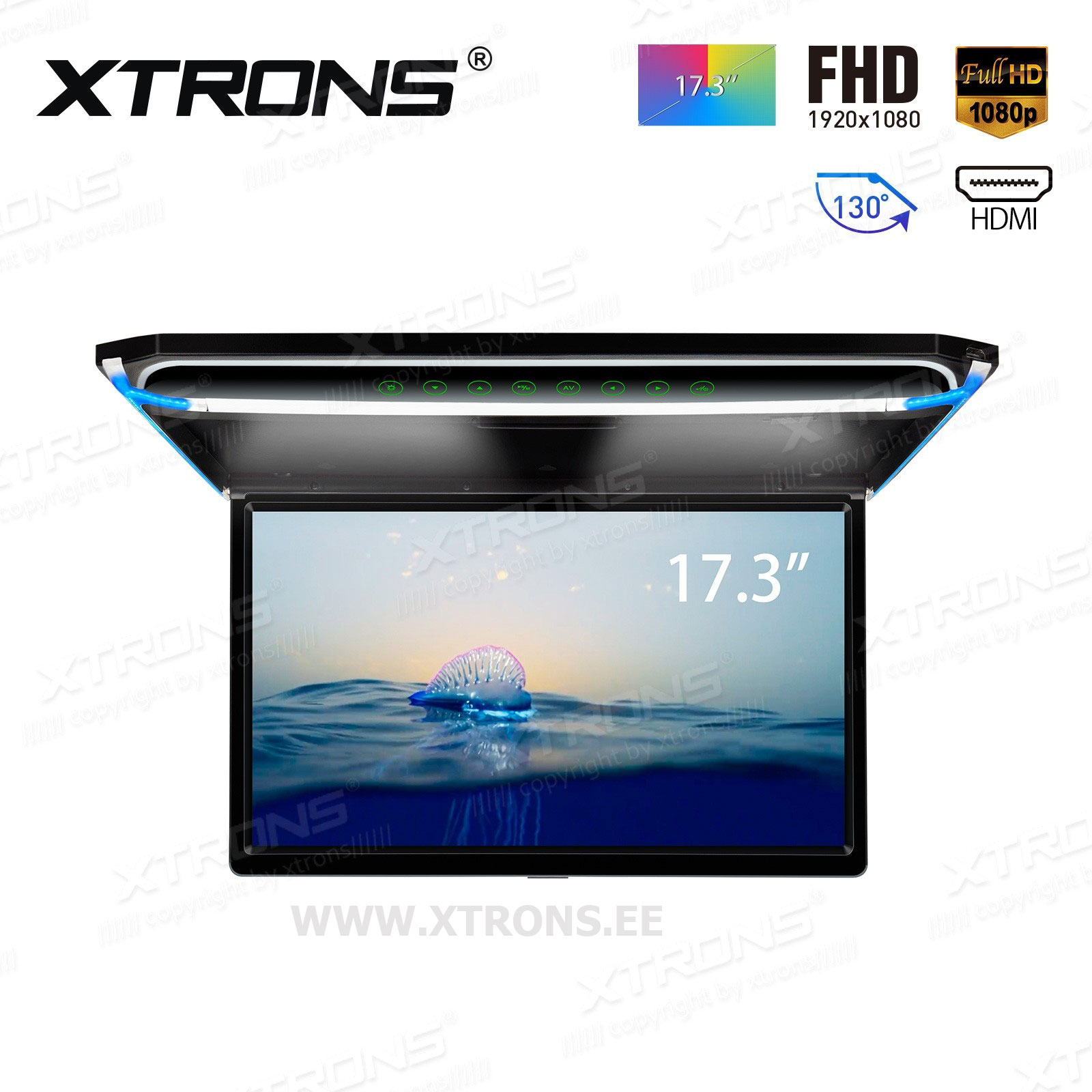 XTRONS CM173HD