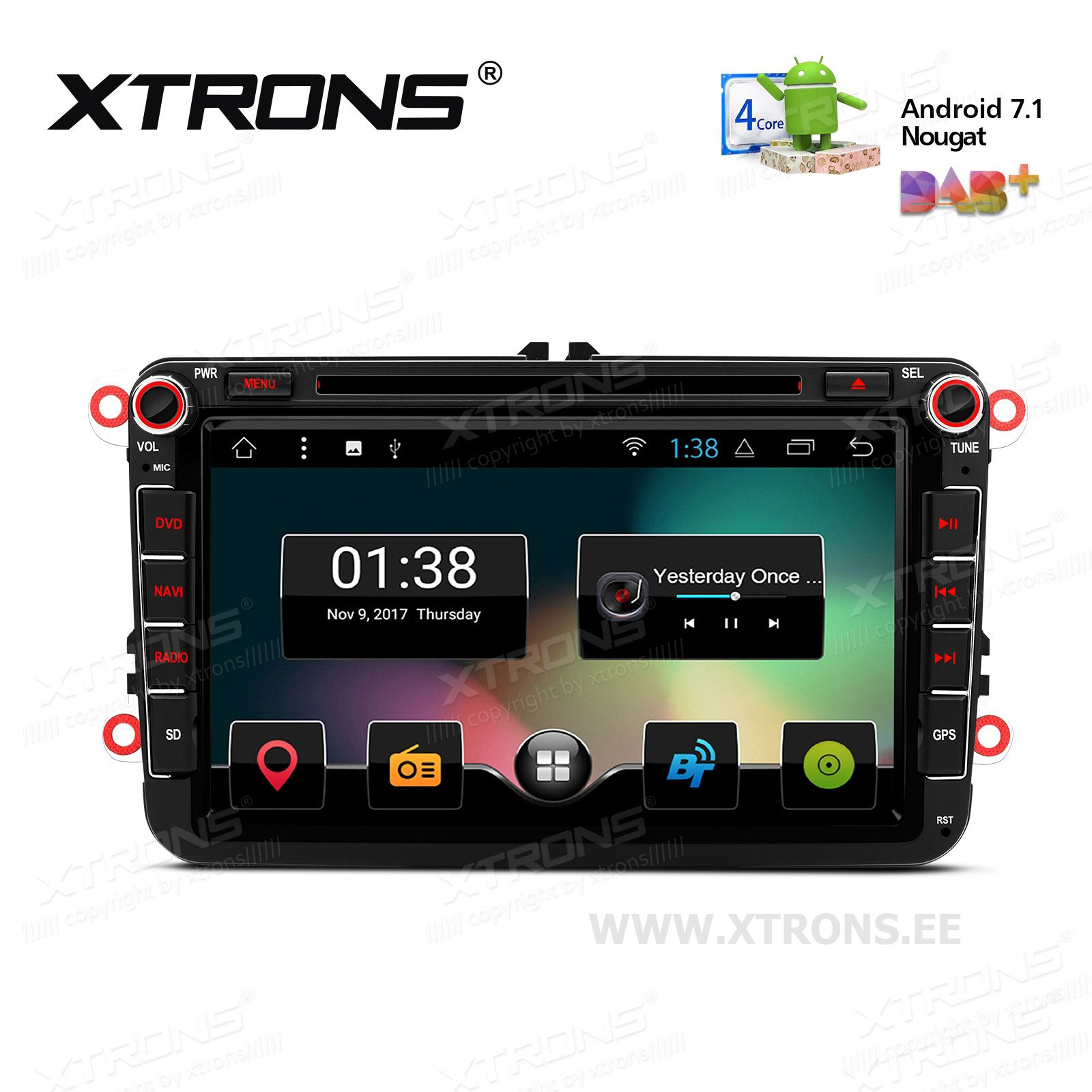 XTRONS PCD87MTV