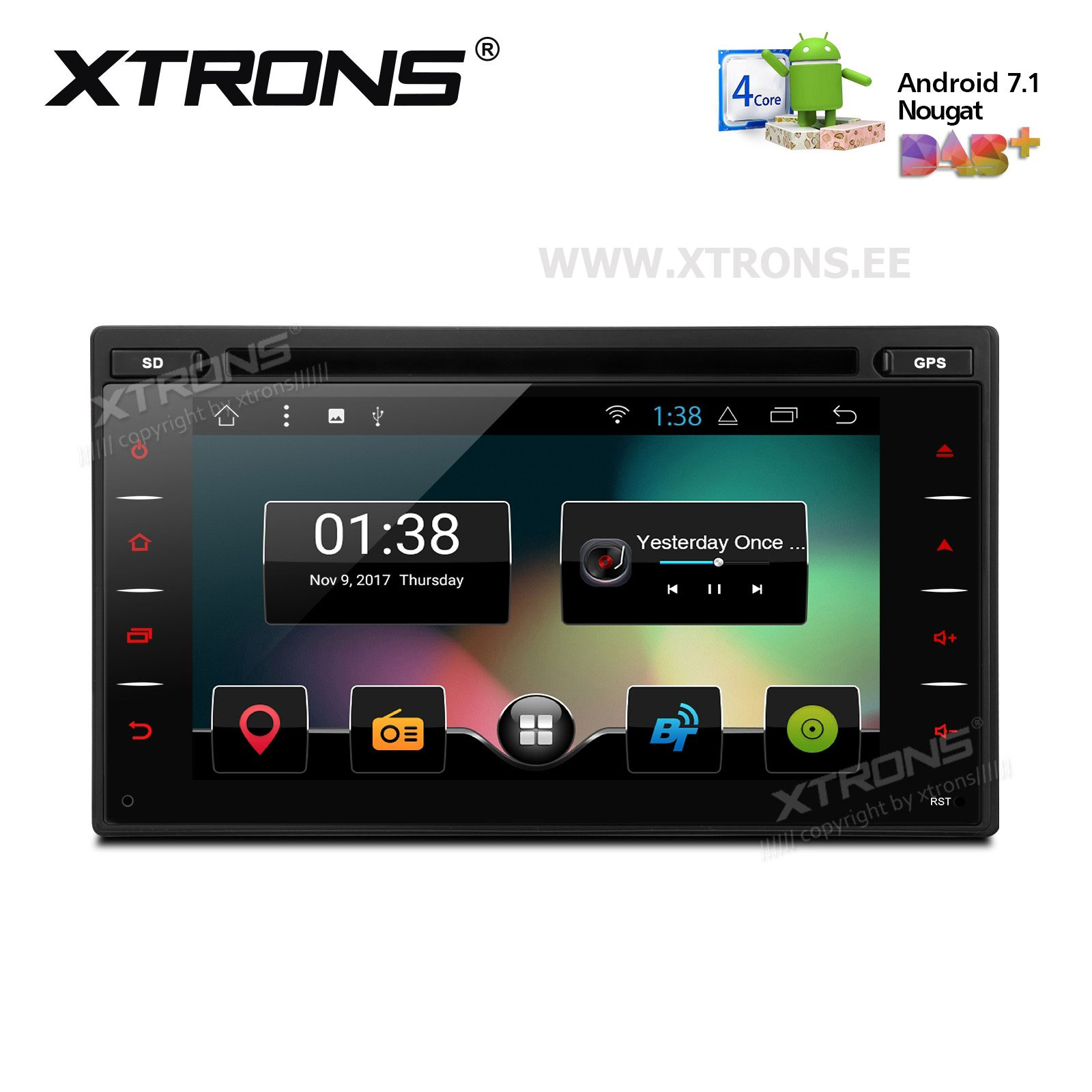 XTRONS TCD618