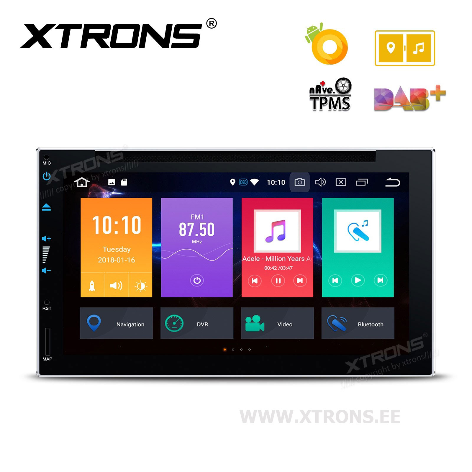 XTRONS TE697P