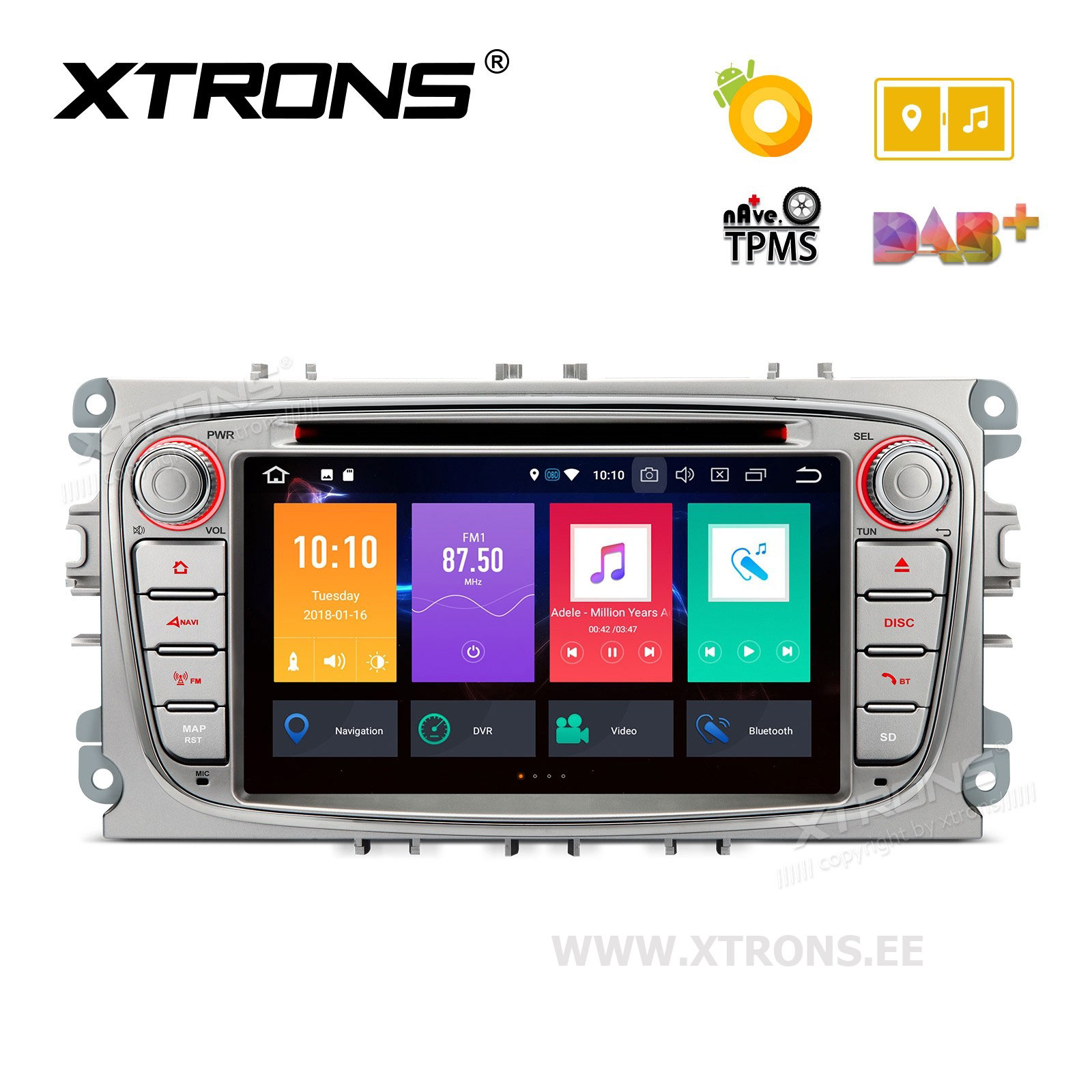 XTRONS PB78FSFP-S