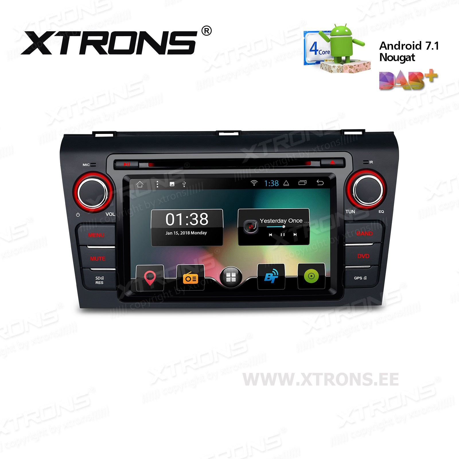 XTRONS PCD77M3M