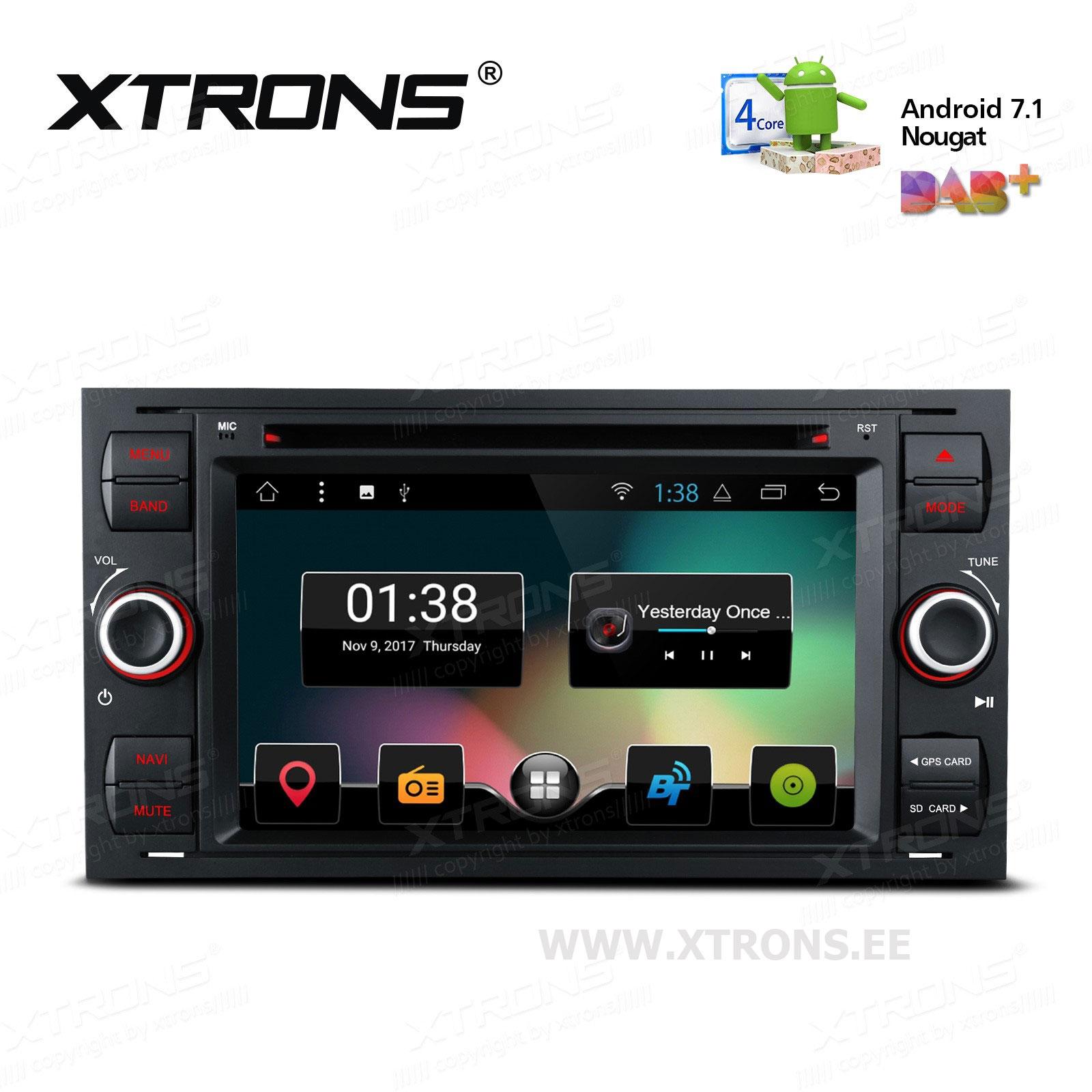 XTRONS PCD77QSF-B