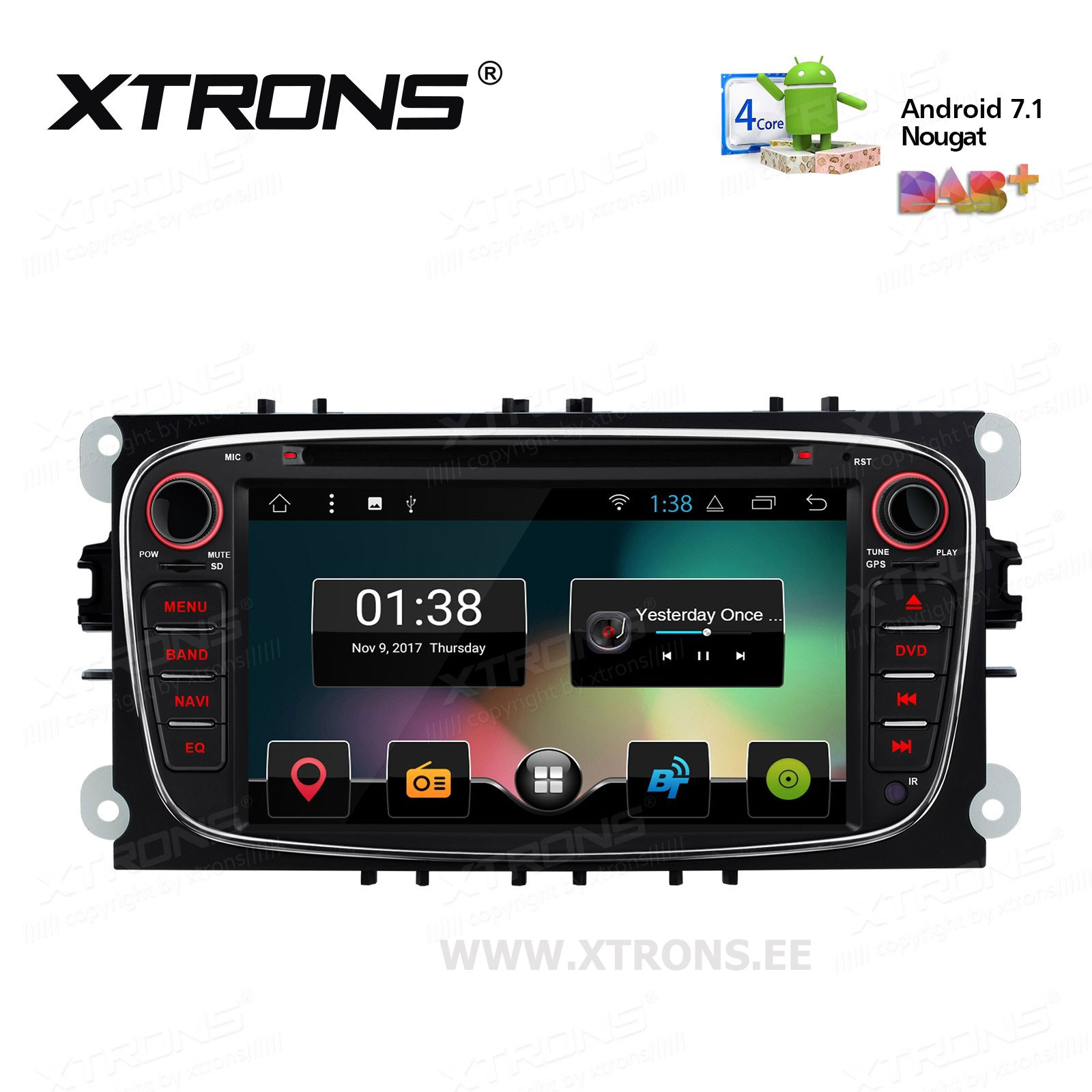 XTRONS PCD77FSF-B