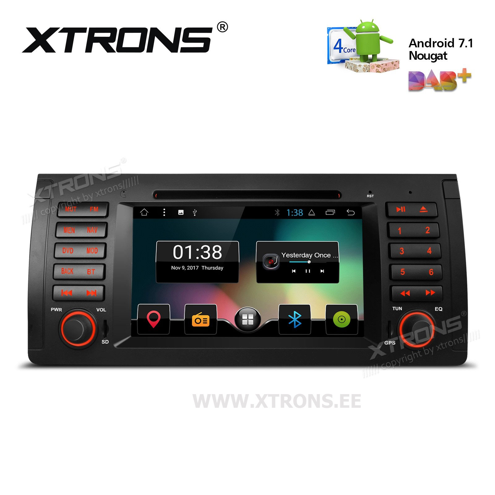XTRONS PCD7753B