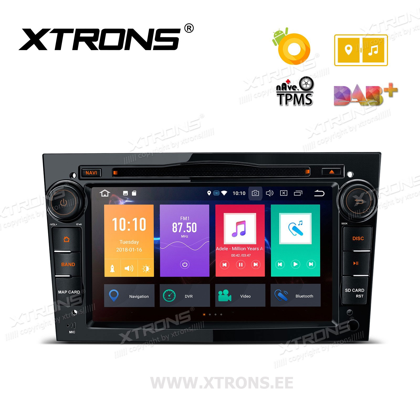 XTRONS PB78OLOP-B