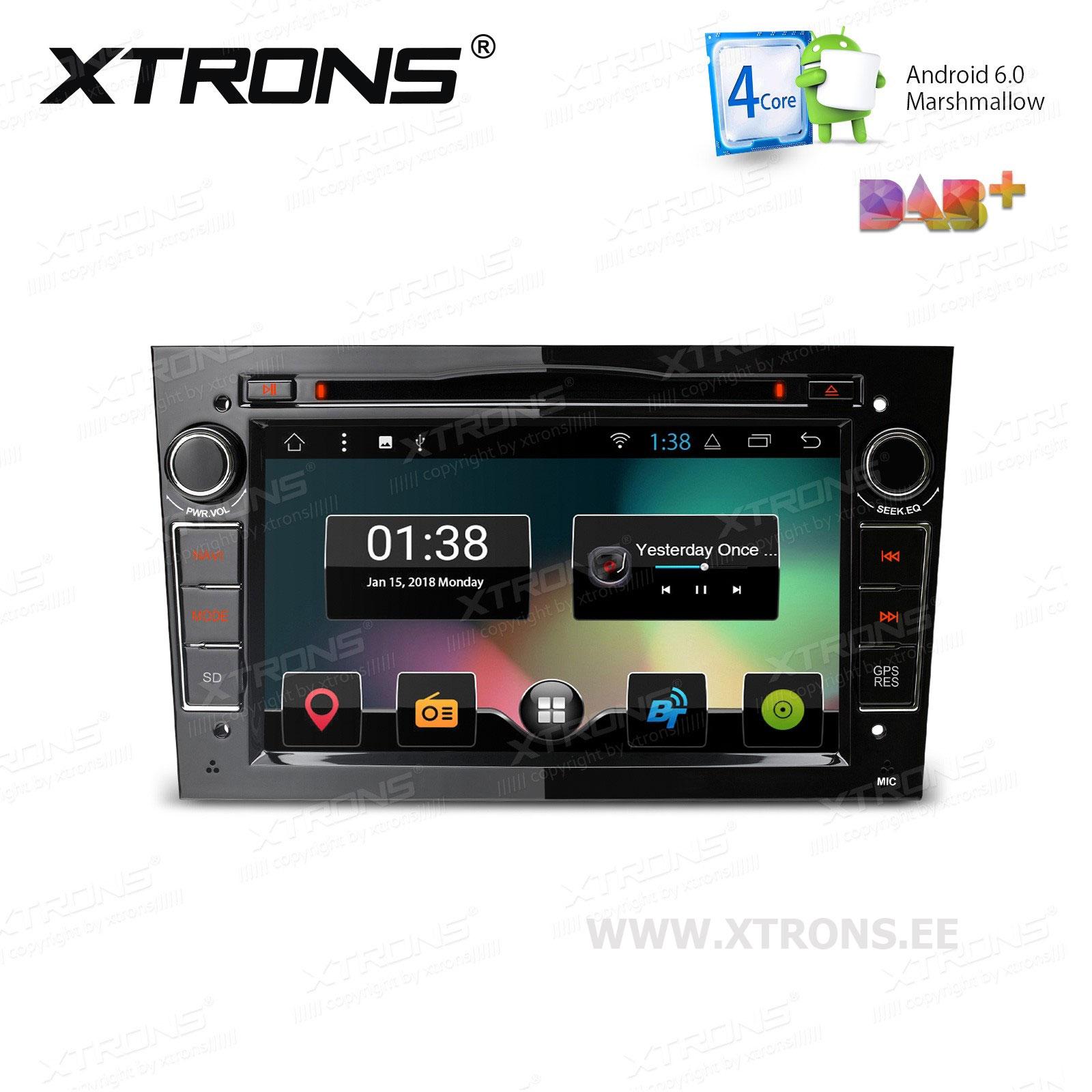 XTRONS PCD77OLO-B