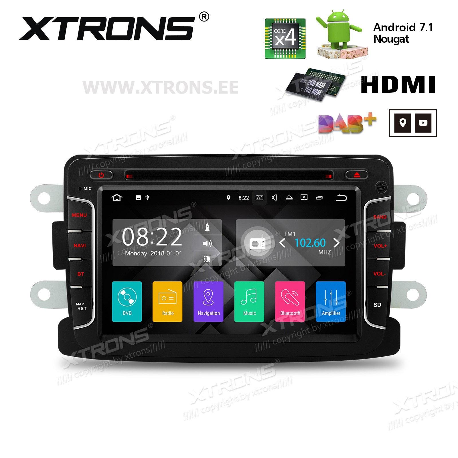 XTRONS PA77DCRP