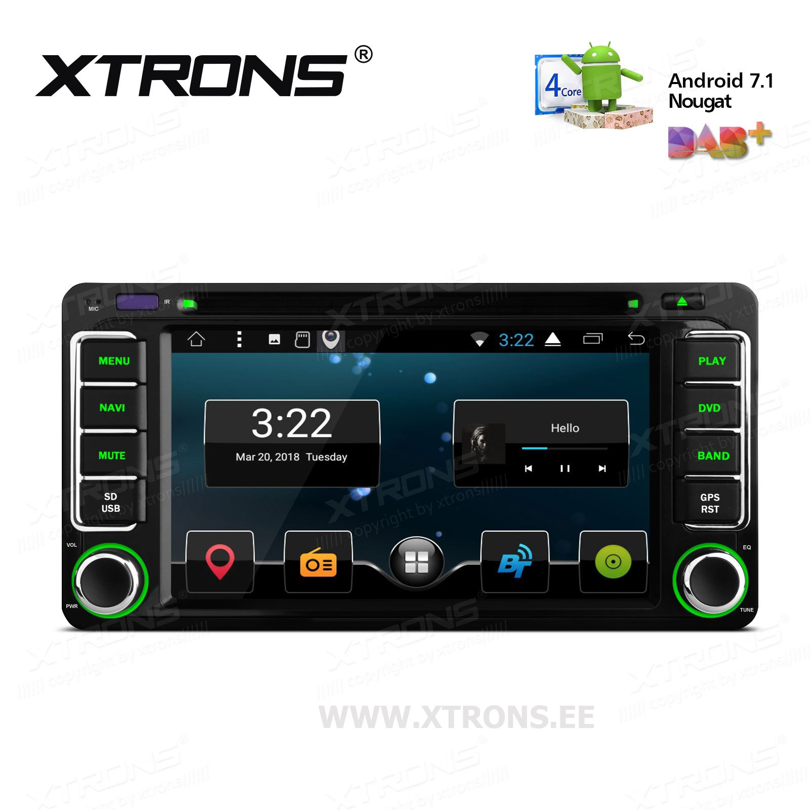 XTRONS PCD67HGT