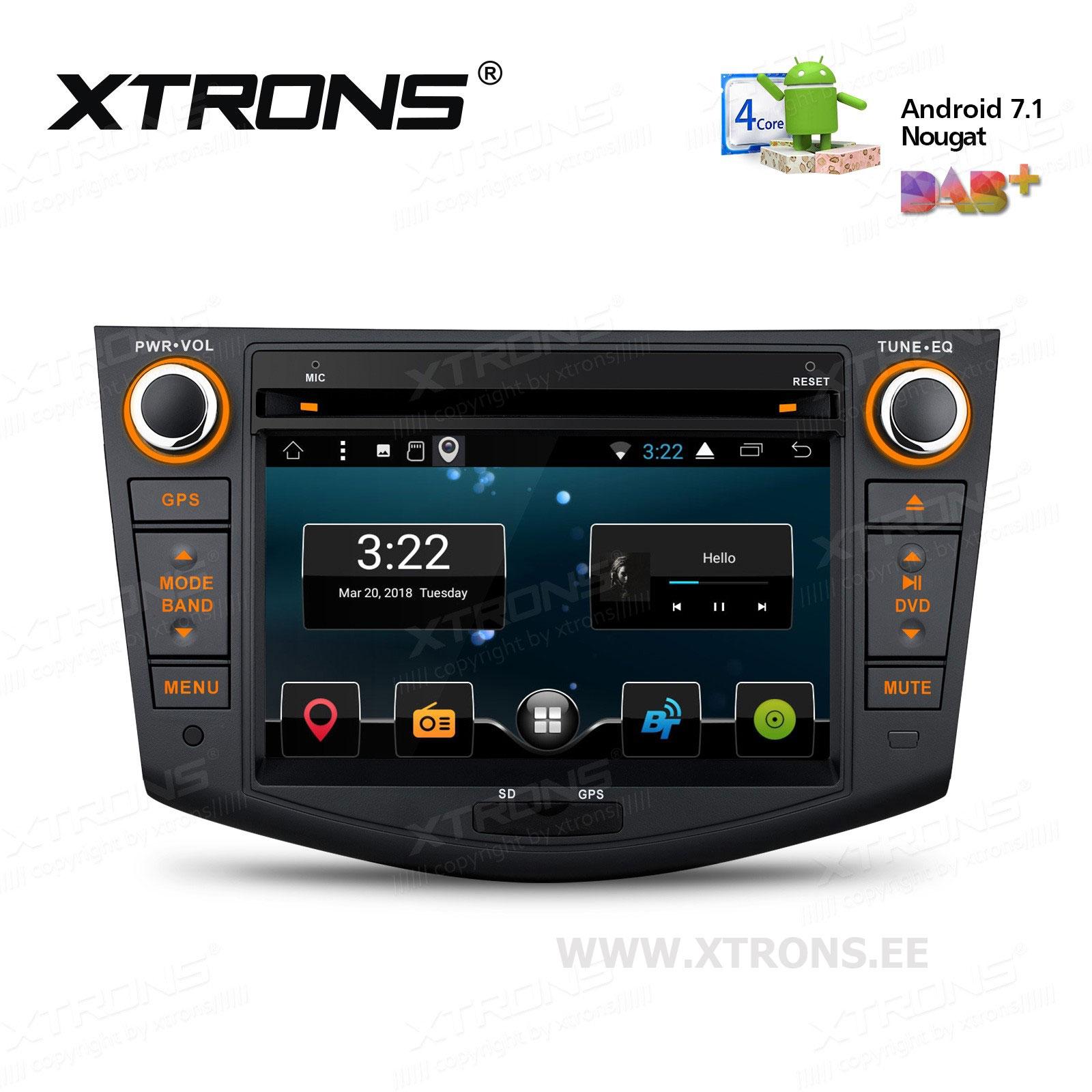 XTRONS PCD77RVT