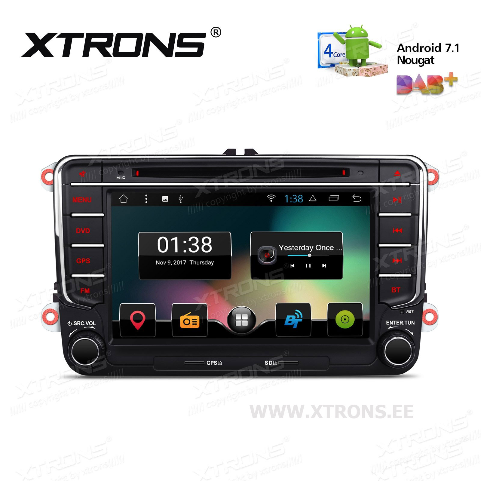 XTRONS PCD77MTV