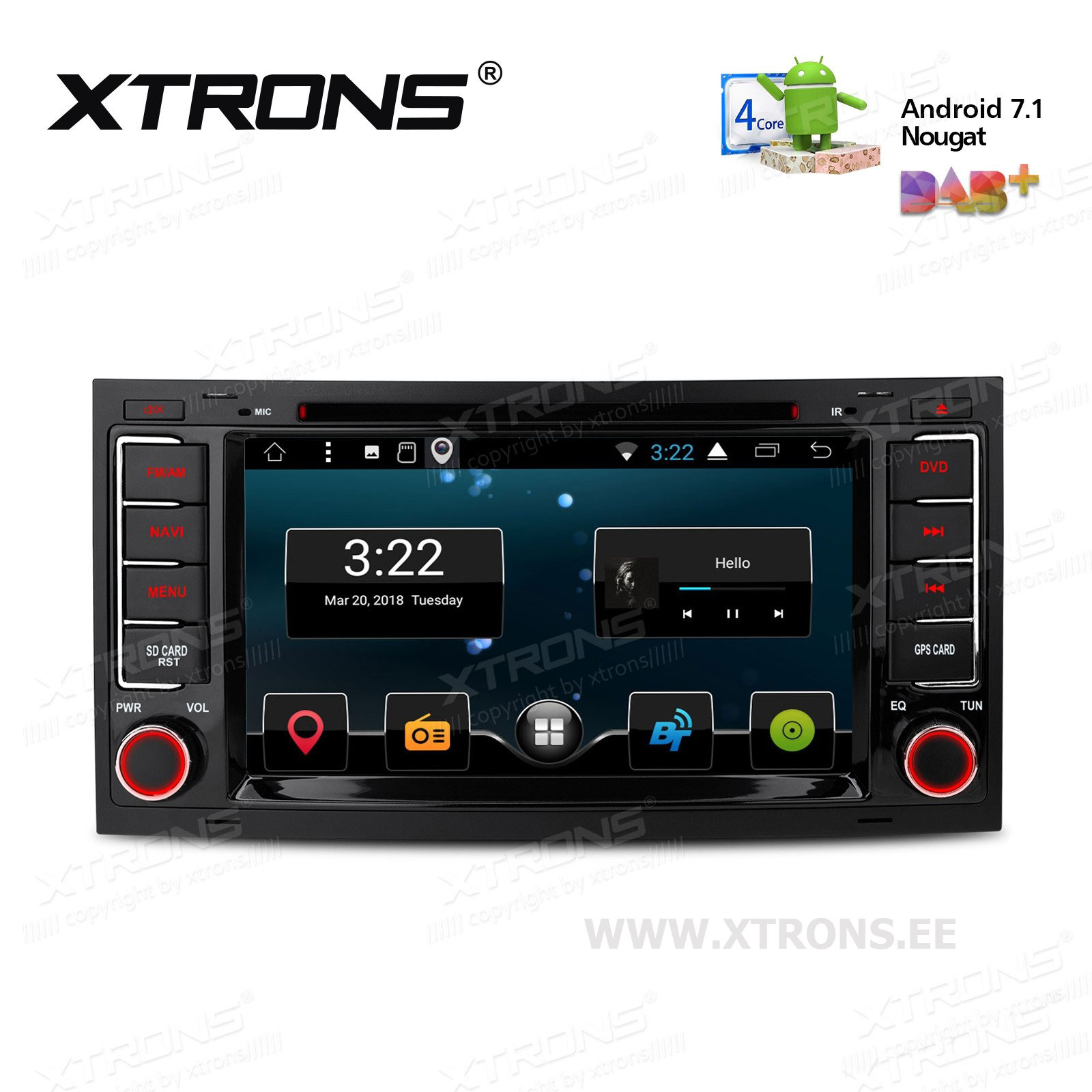 XTRONS PCD77TGV