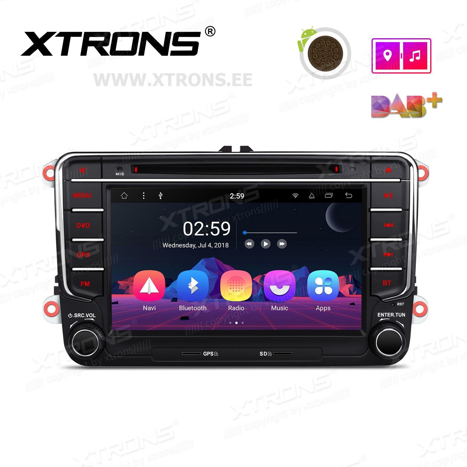 XTRONS PR78MTV