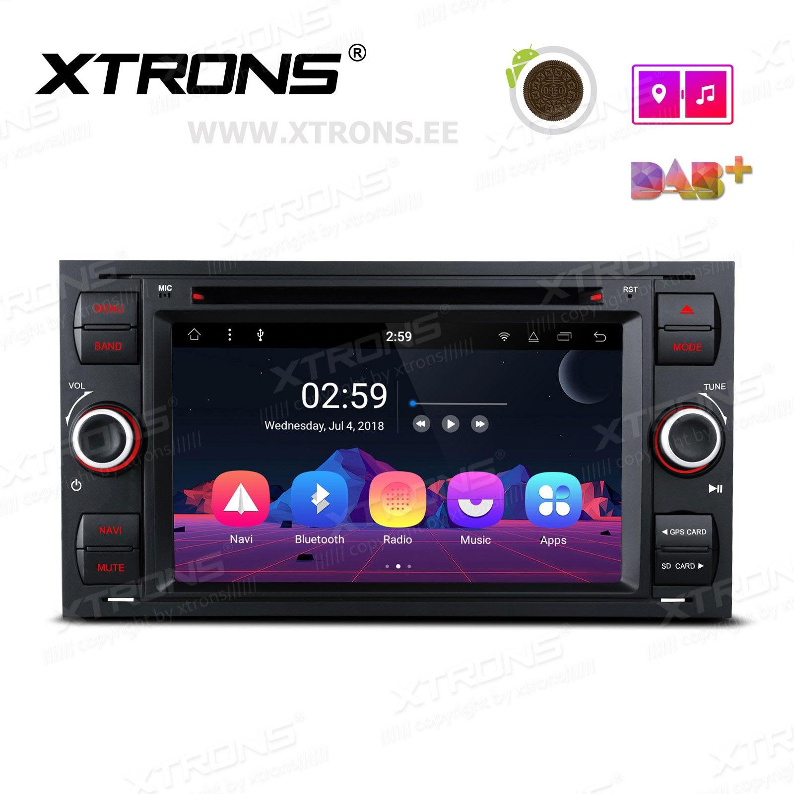 XTRONS PR78QSF-B