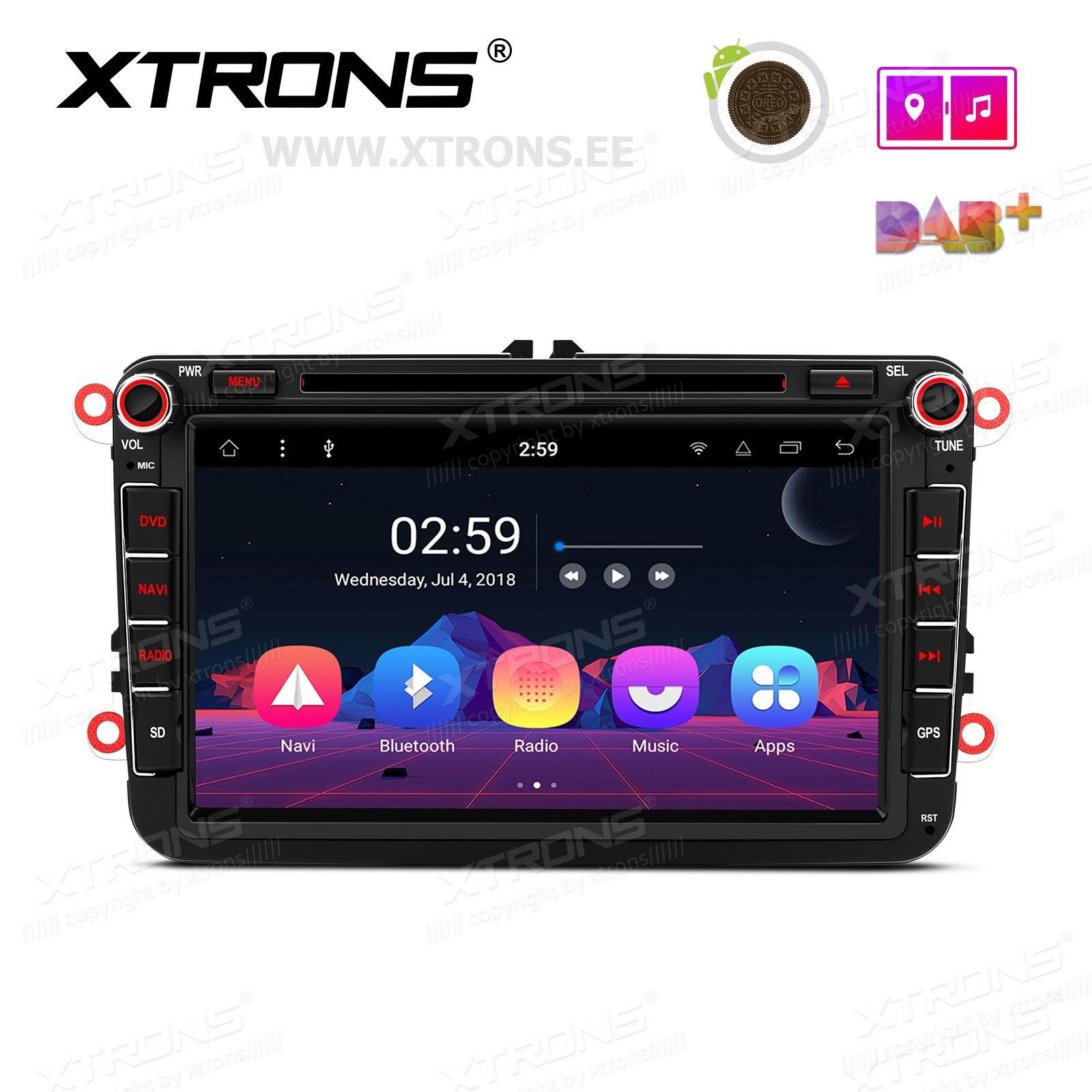 XTRONS PR88MTV