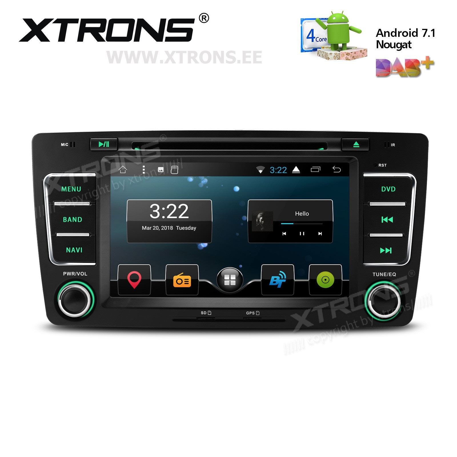 XTRONS PCD77OTS