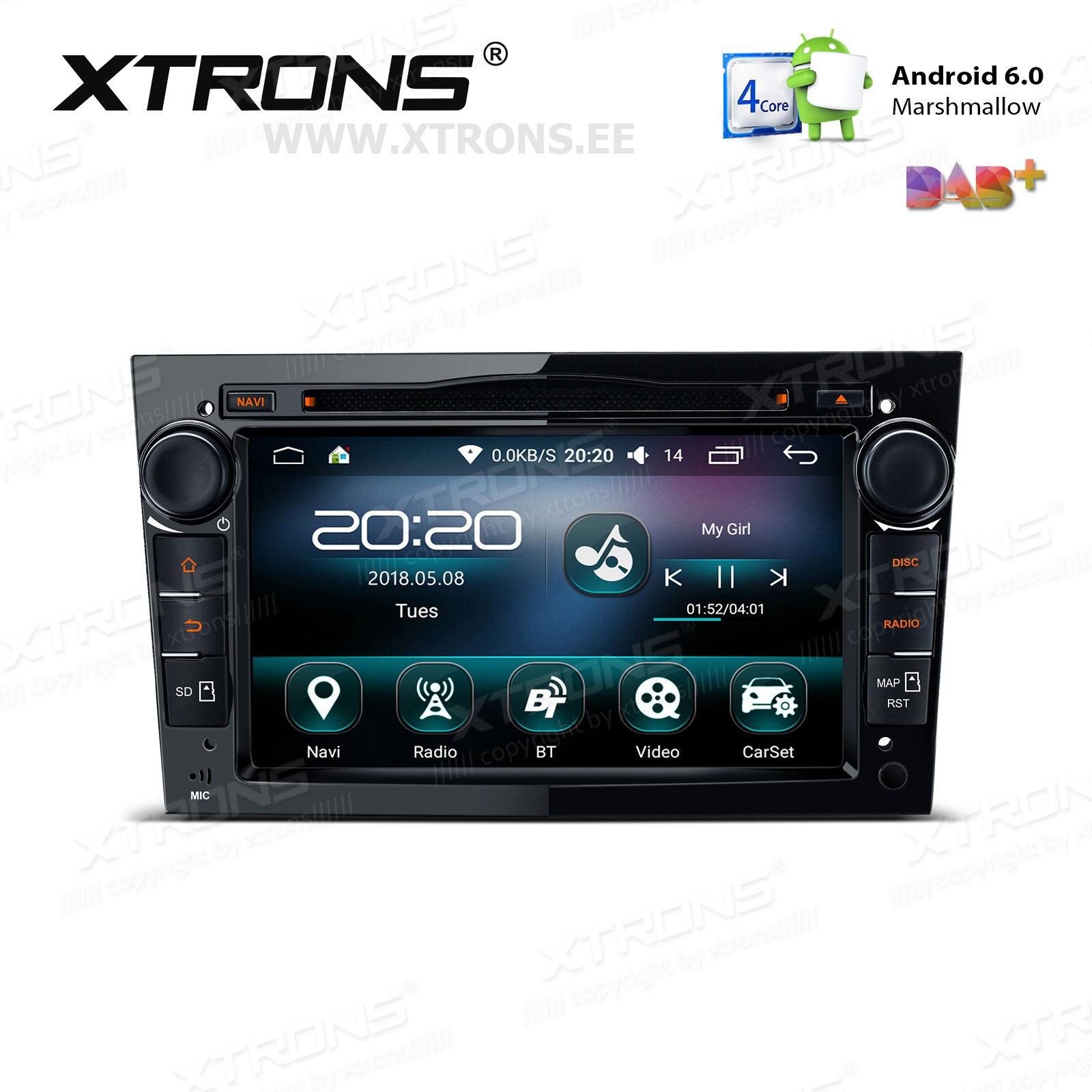 XTRONS PS76OLO-B
