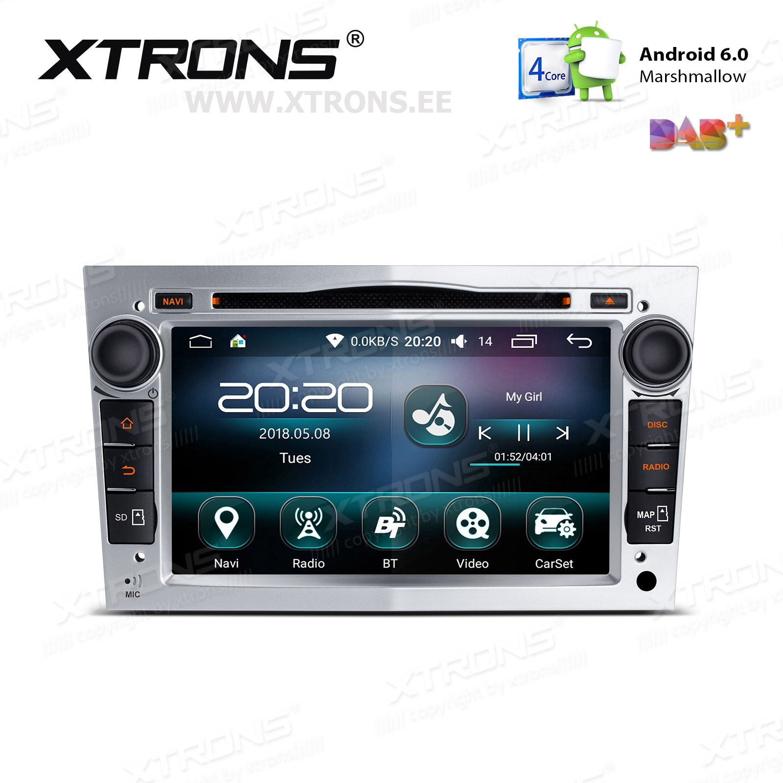 XTRONS PS76OLO-S