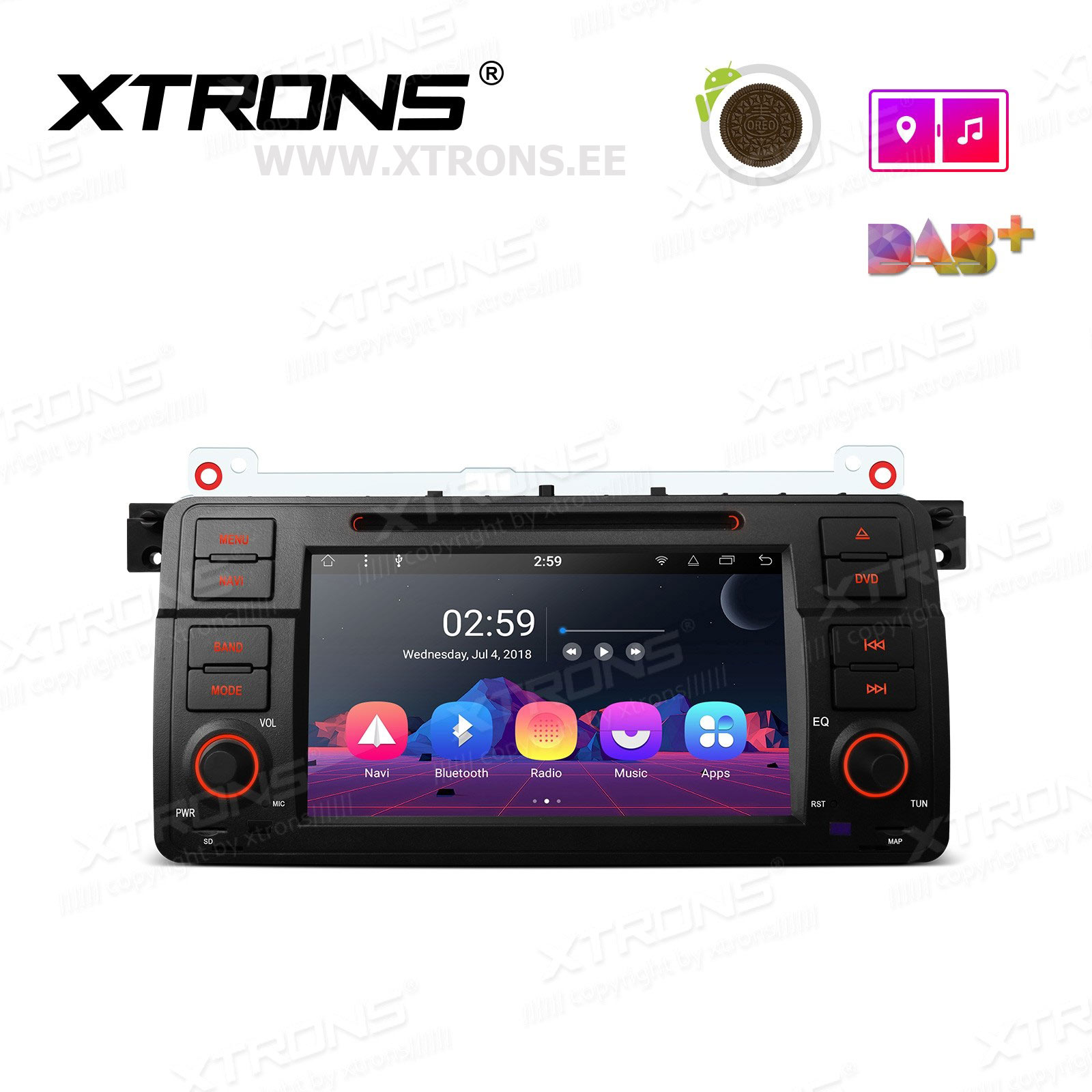 XTRONS PR7846B