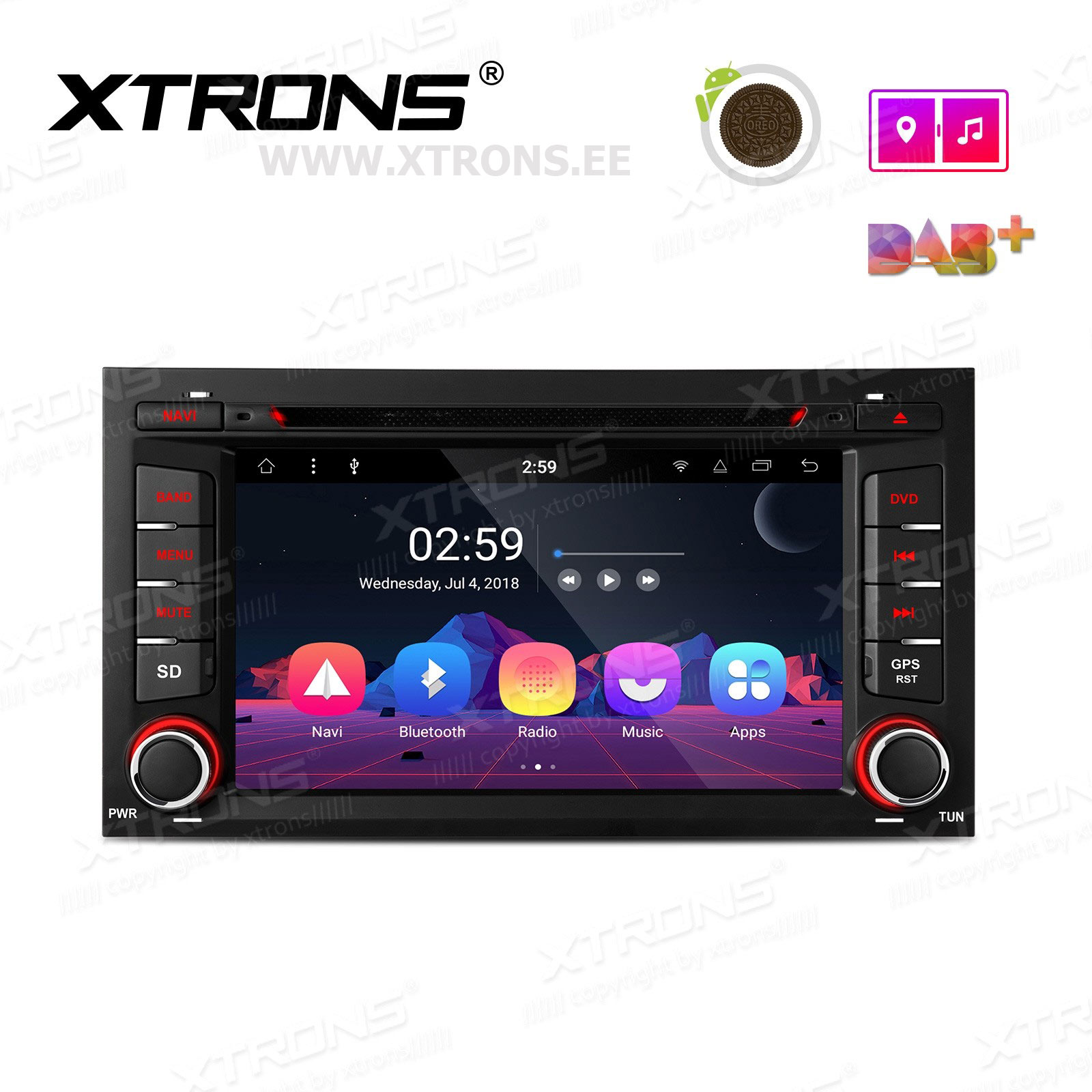 XTRONS PR78LES