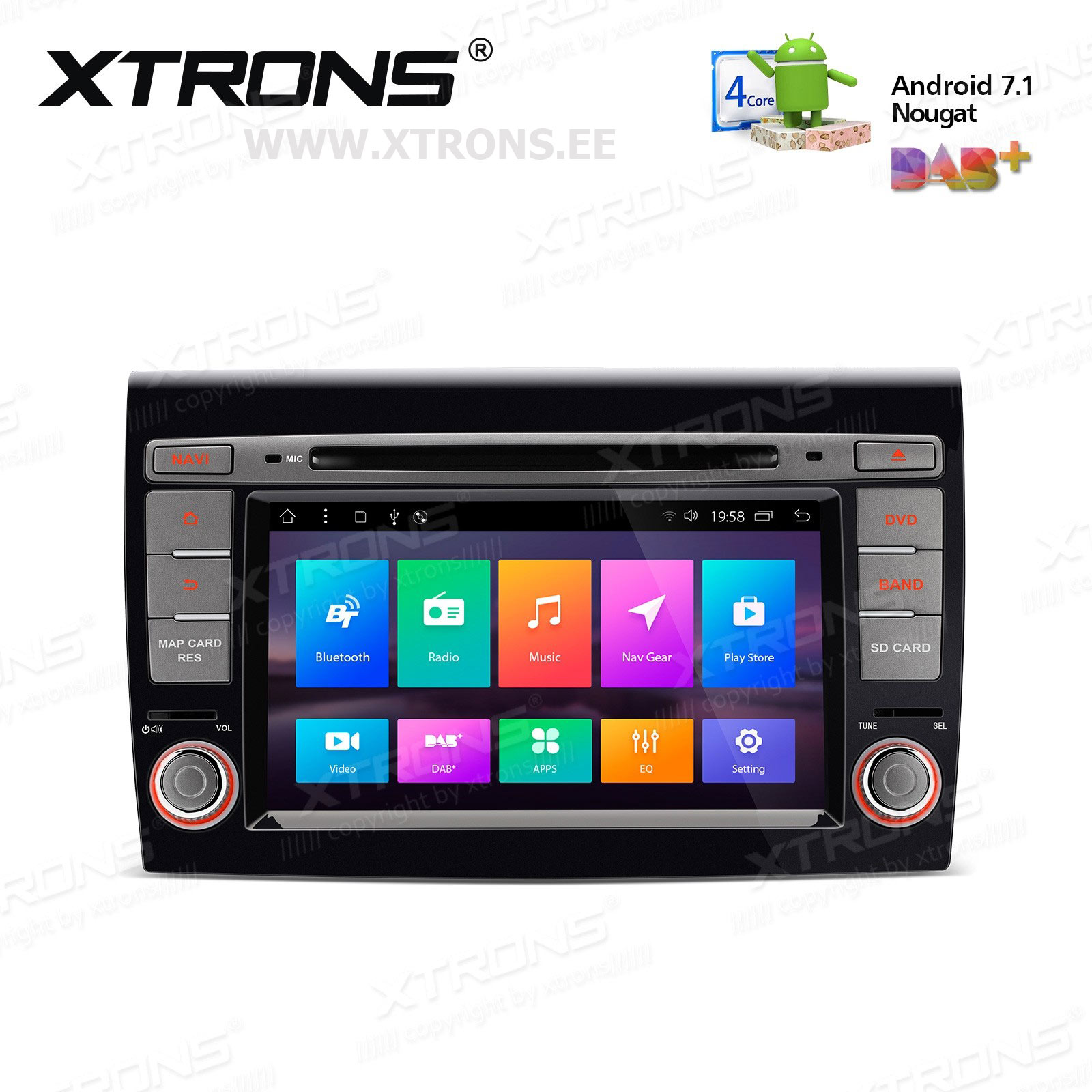 XTRONS PCD77BYF