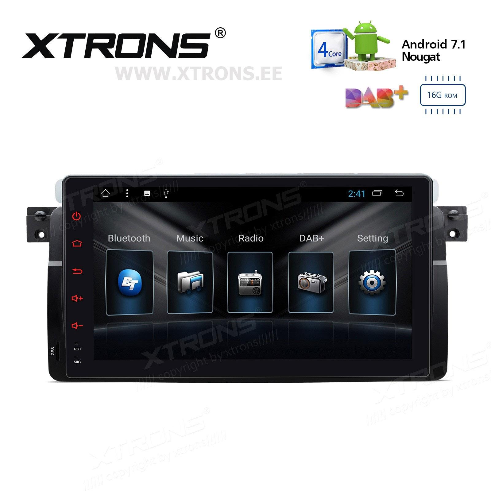 XTRONS PCD9746BL
