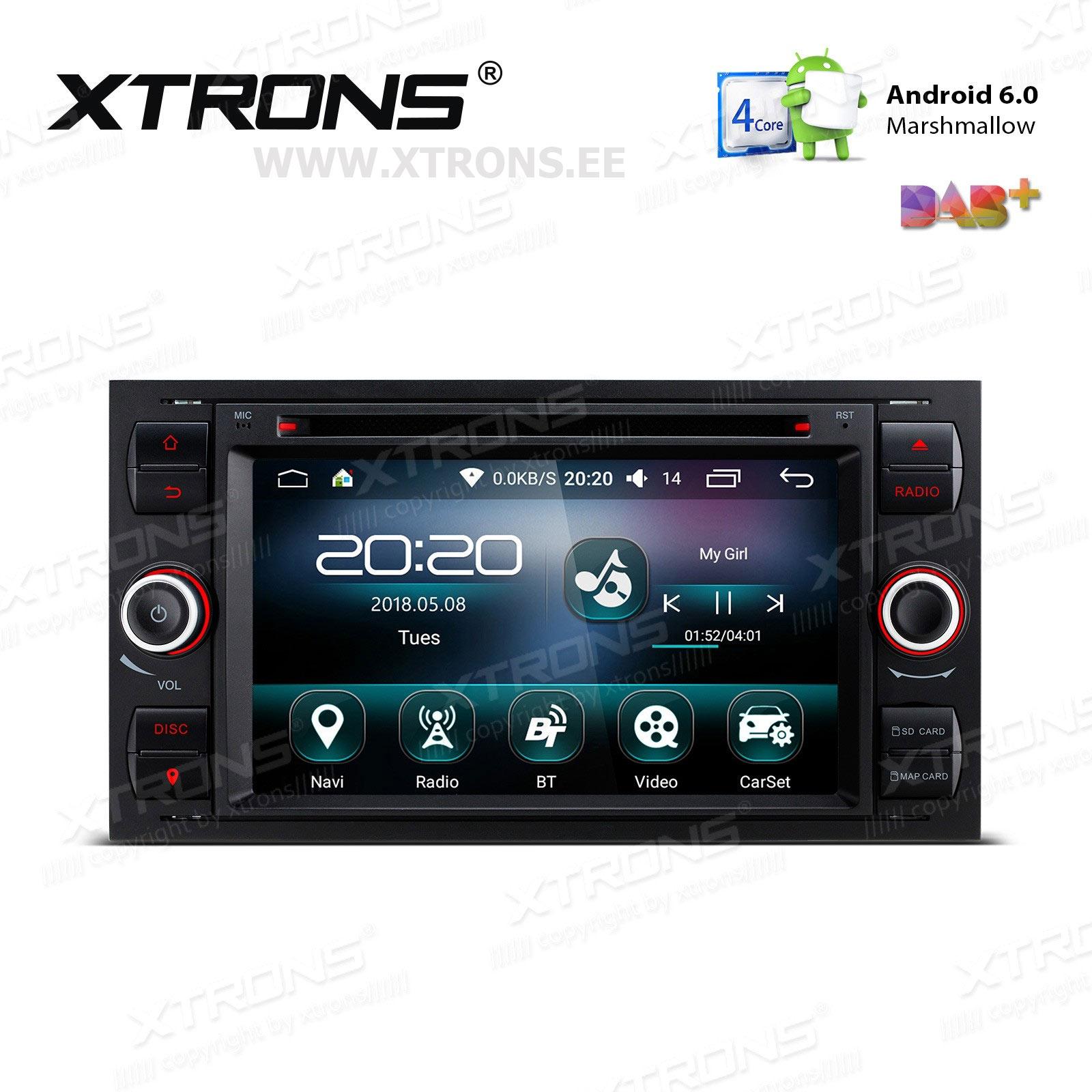 XTRONS PS76QSF-B