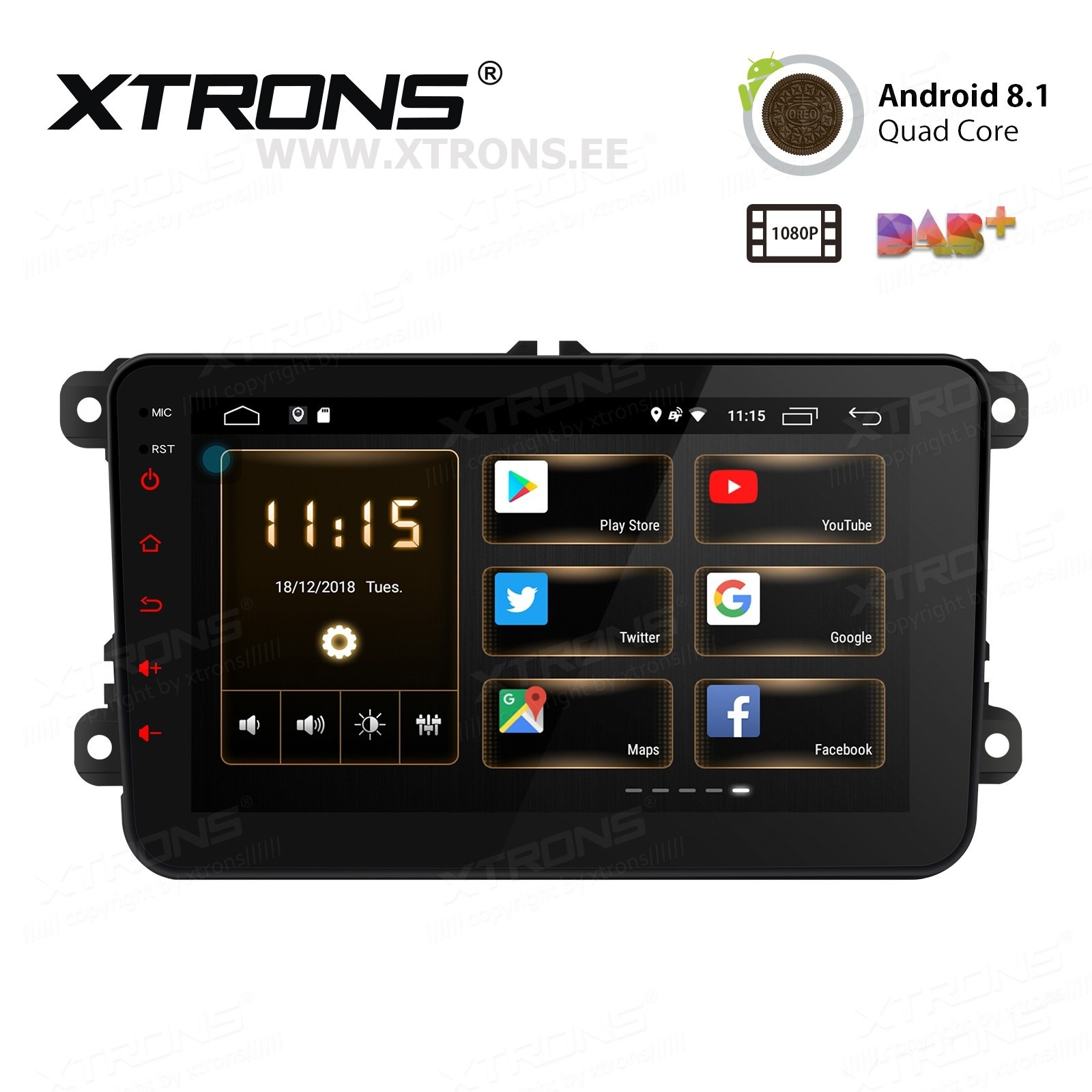 XTRONS PS88MTVL