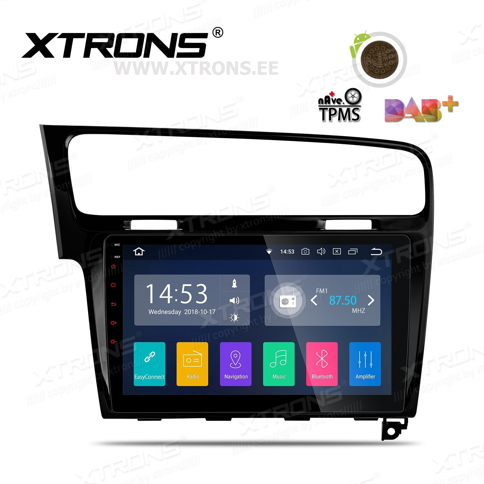 XTRONS PA18GFVIPL-LB