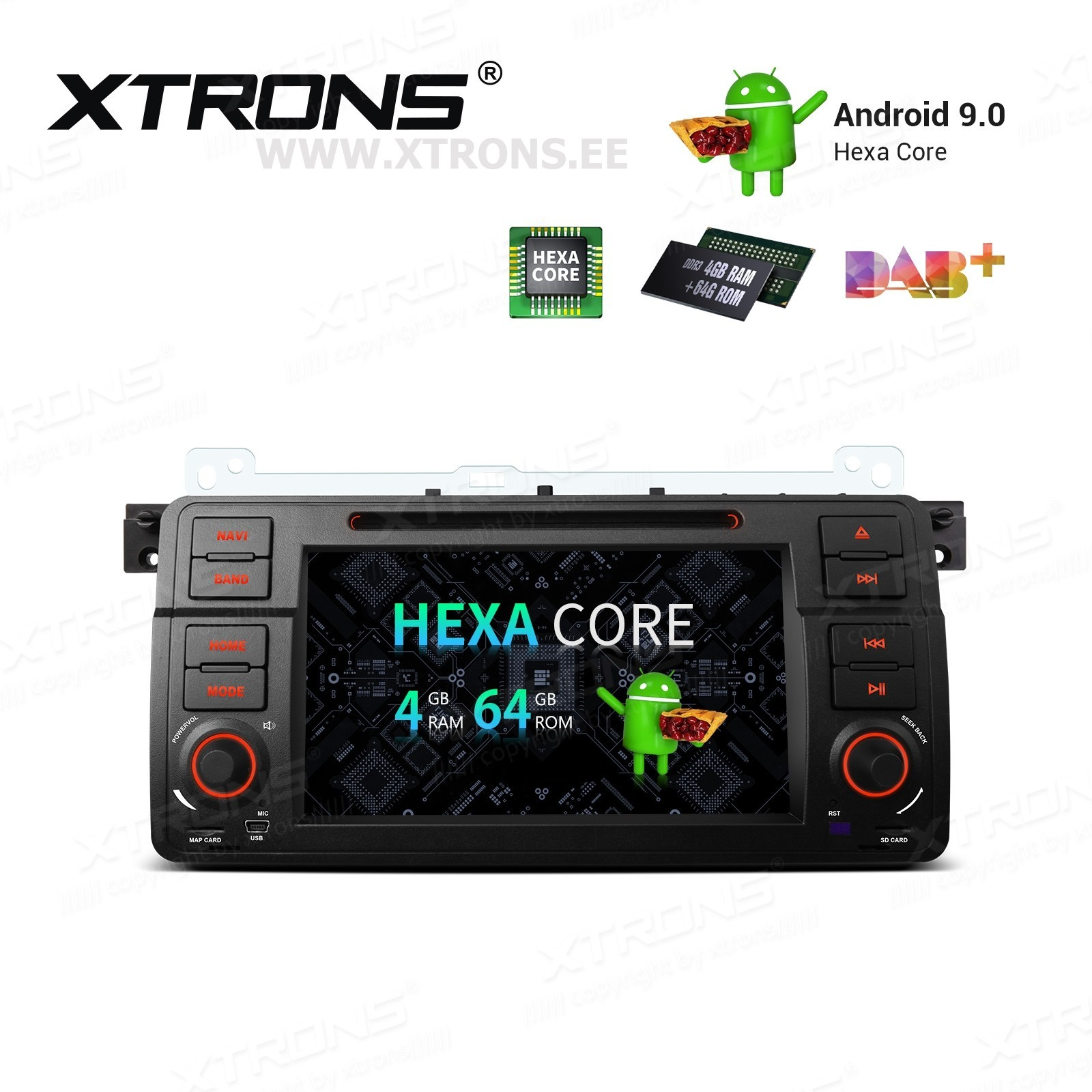 XTRONS PQ7946BIP