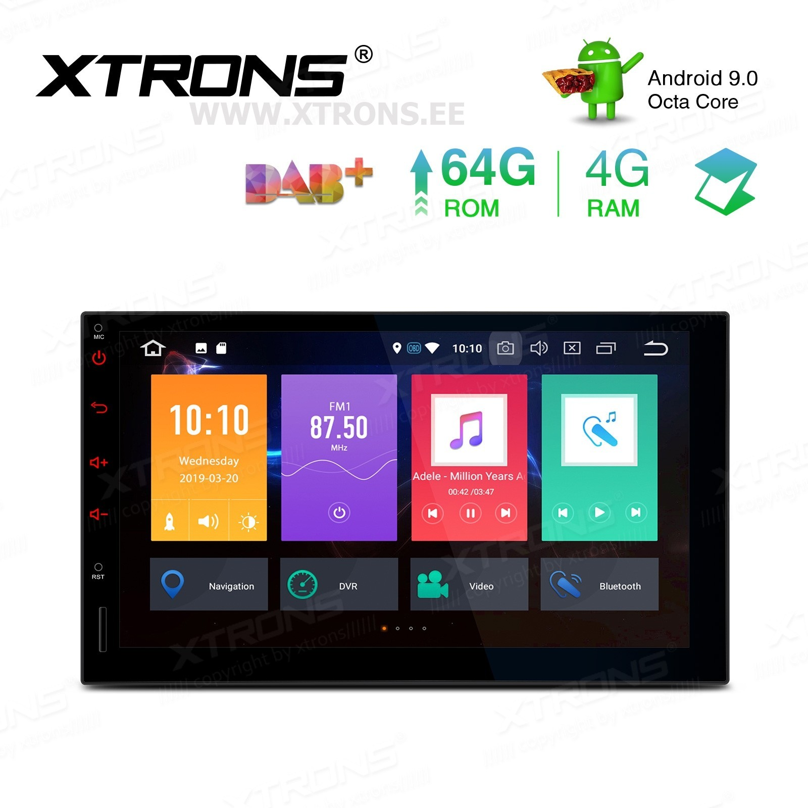 XTRONS TBX709L