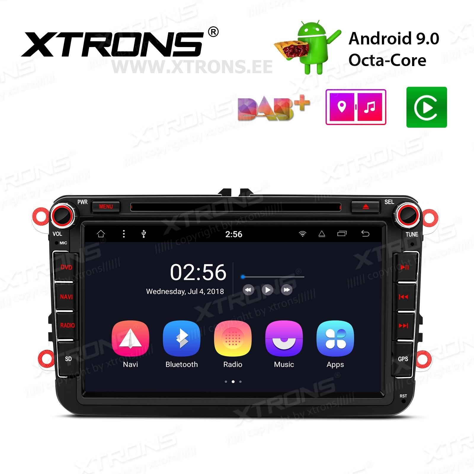 XTRONS PR89MTV