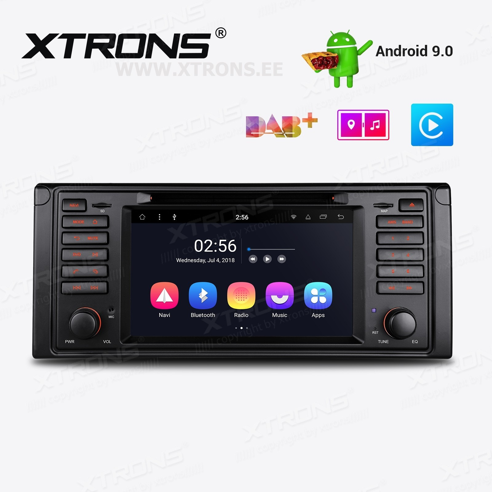XTRONS PR7939B