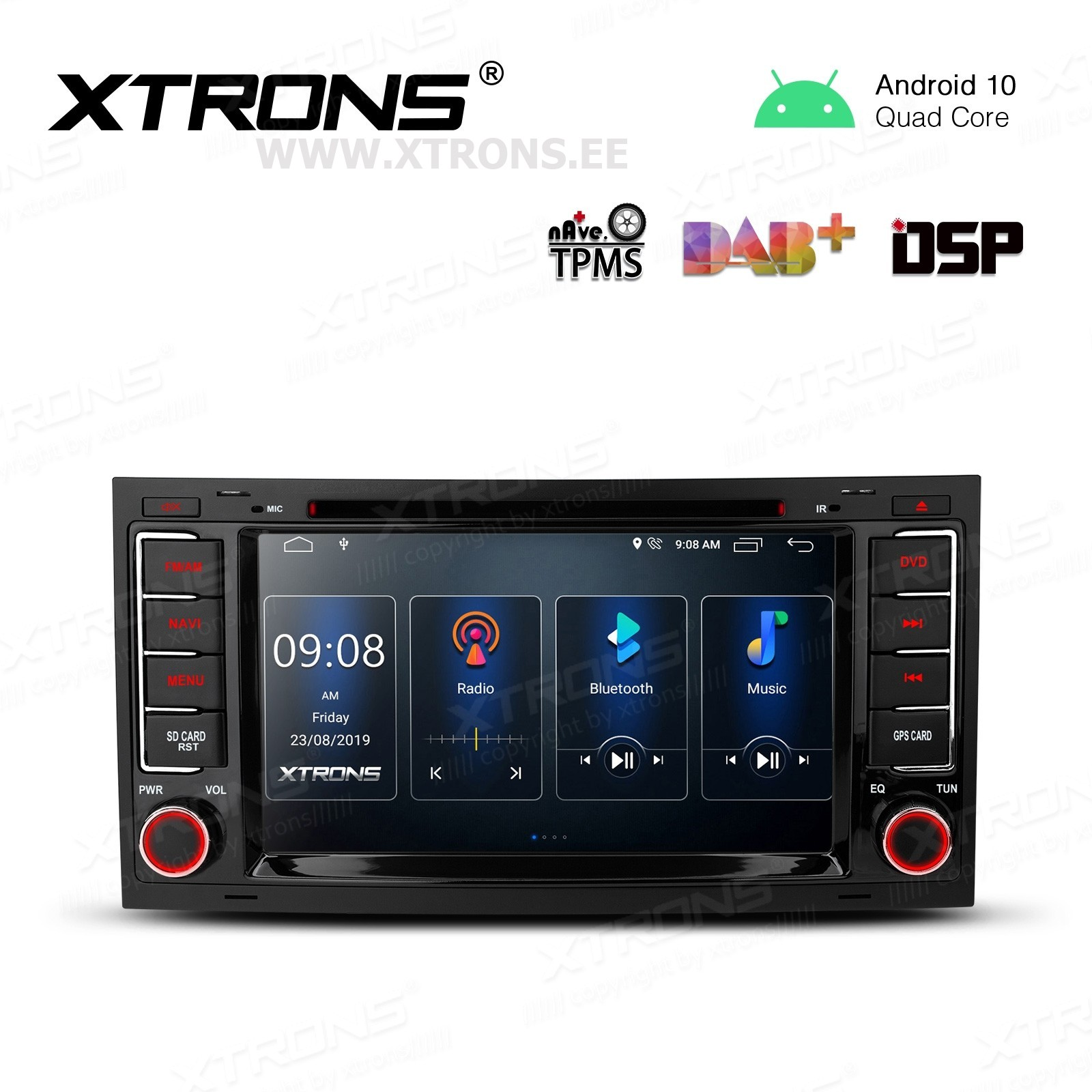 XTRONS PSD70TRV