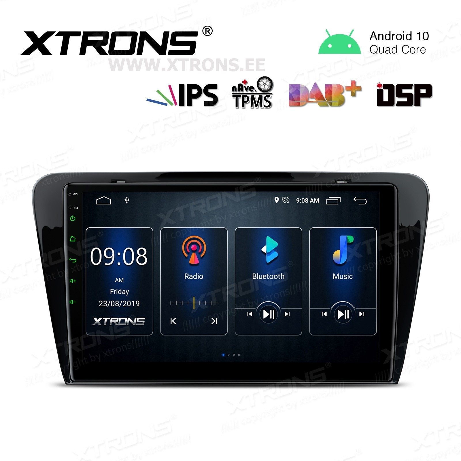XTRONS PST10CTS