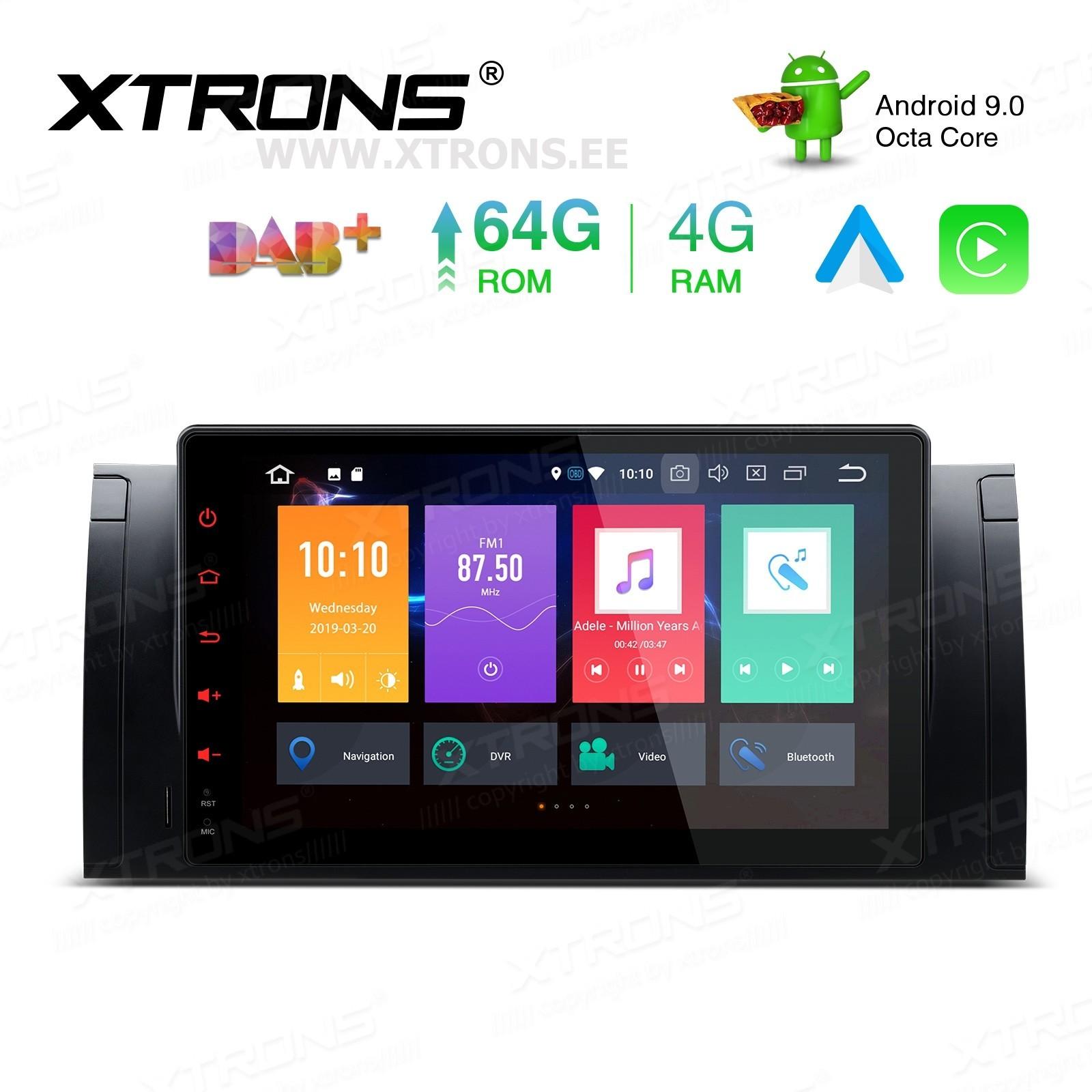 XTRONS PBX9953BL