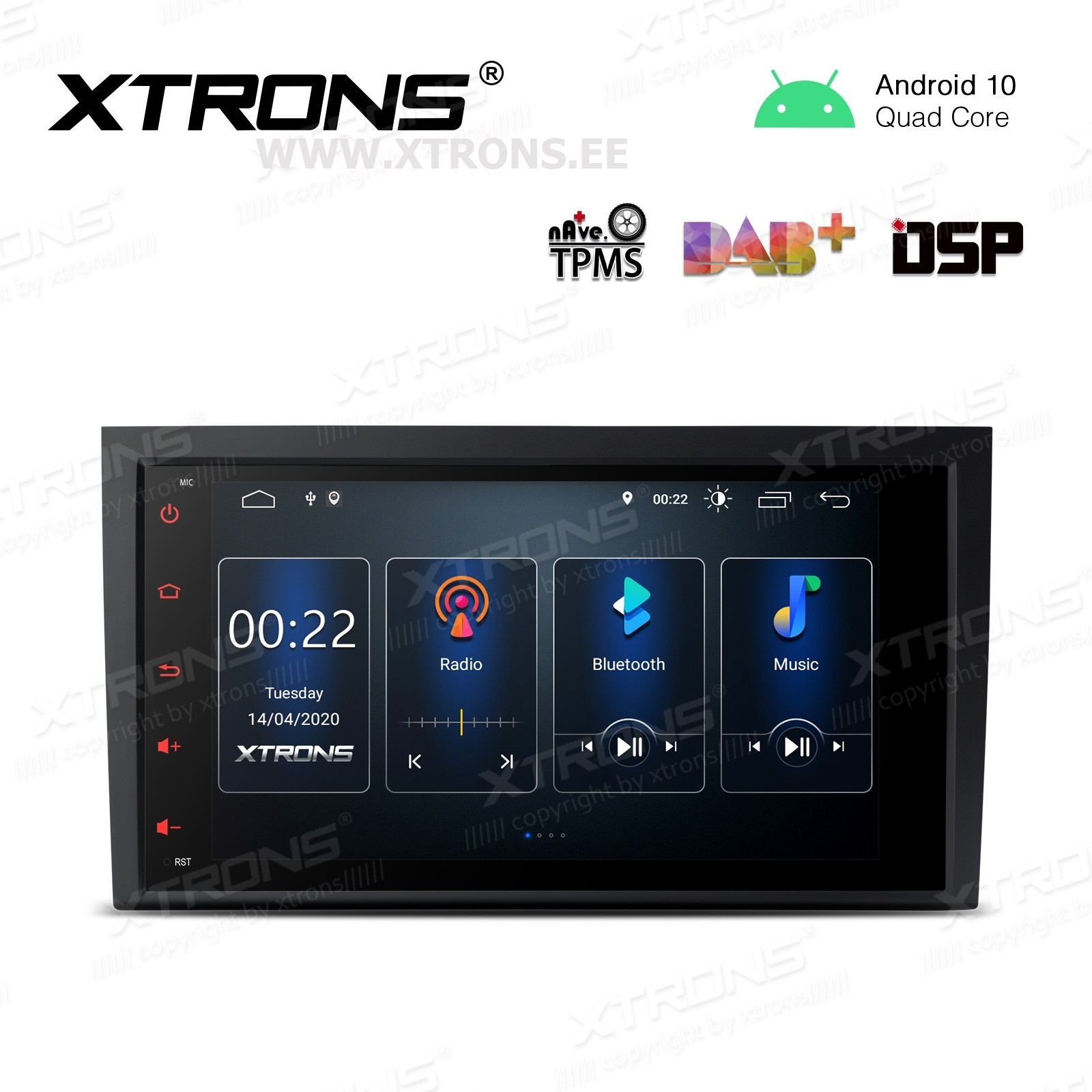 XTRONS PSD80A4AL